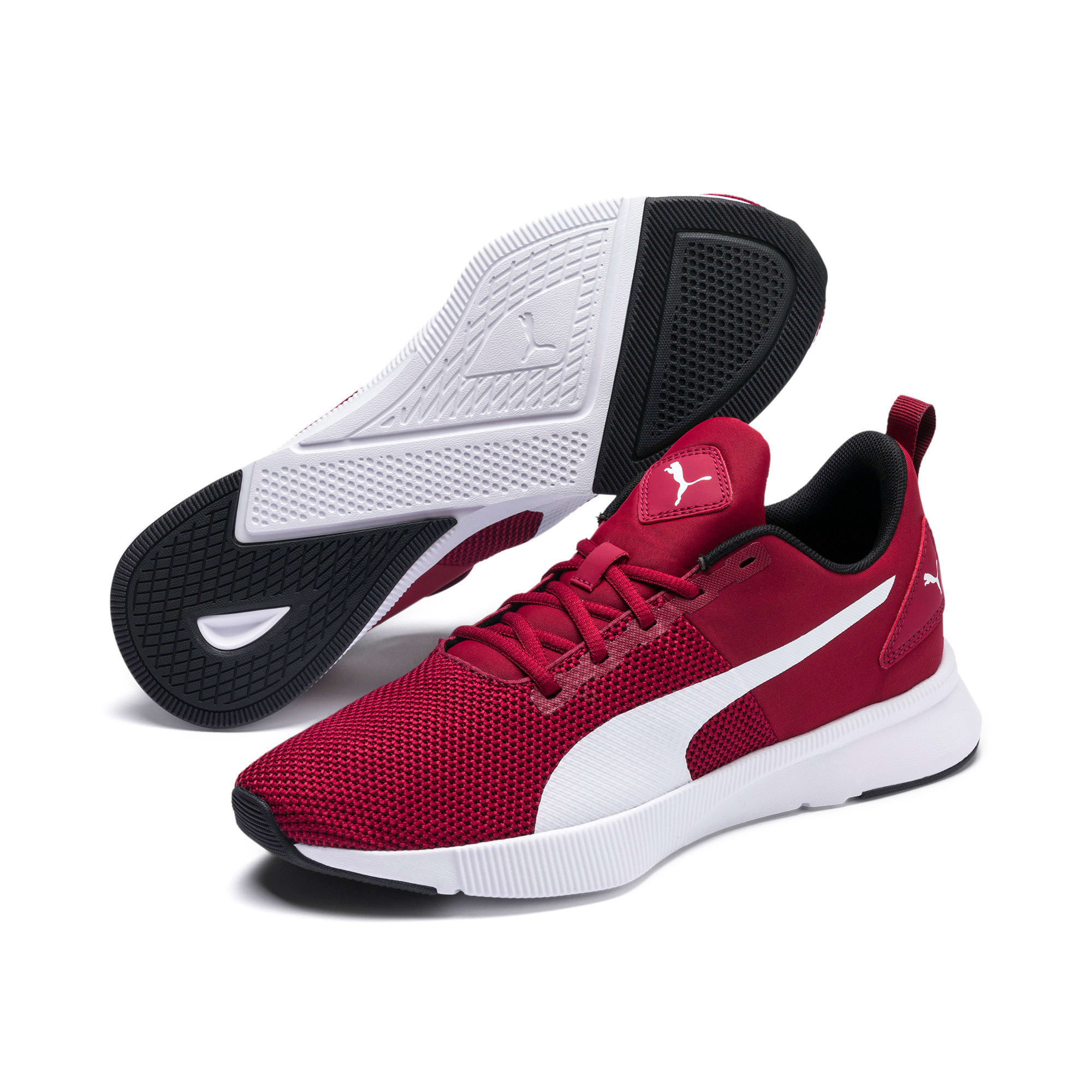 Thumbnail 2 of Flyer Runner Running Shoes, Rhubarb-Puma White, medium