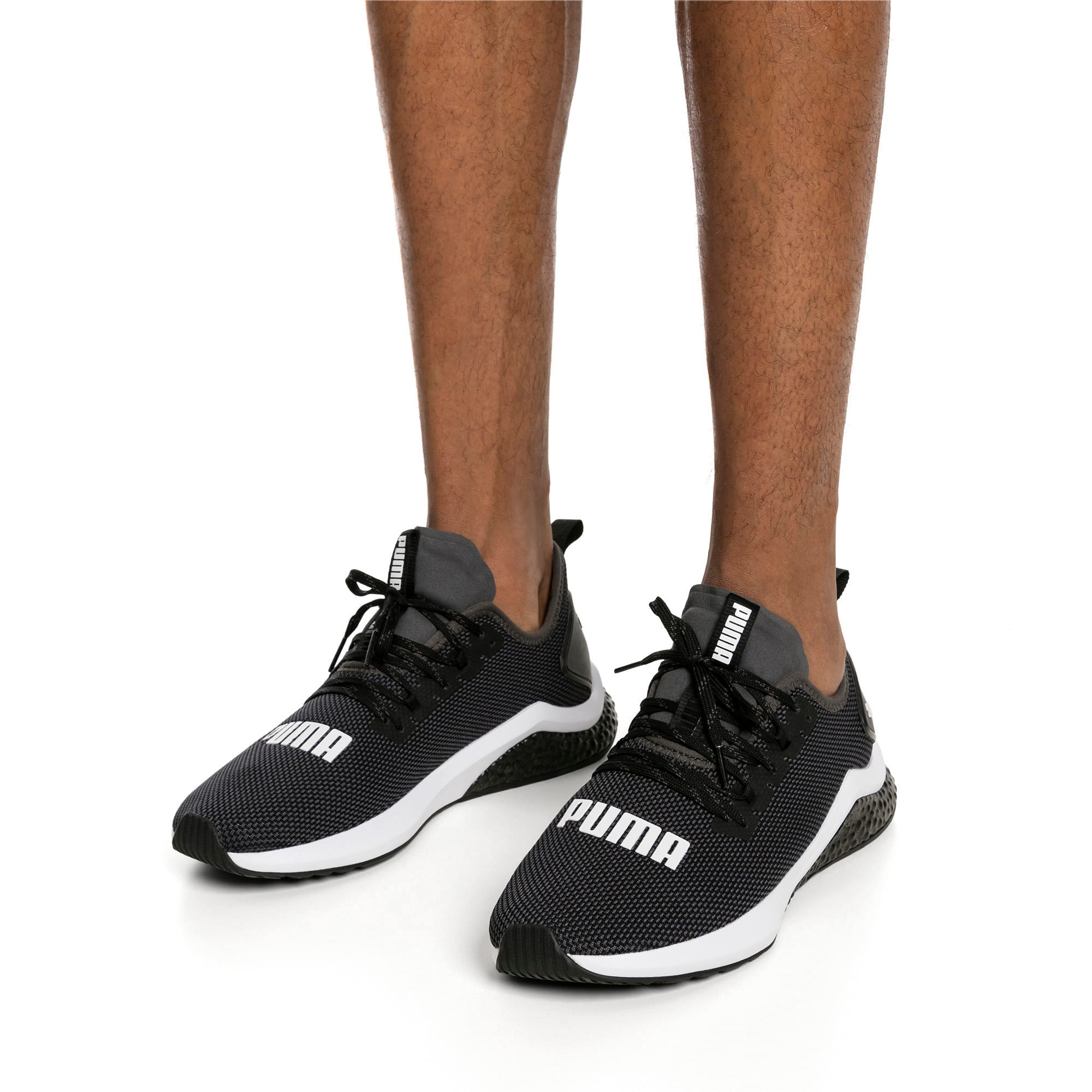 Thumbnail 2 of HYBRID NX Men's Running Shoes, Puma Black-Puma White, medium