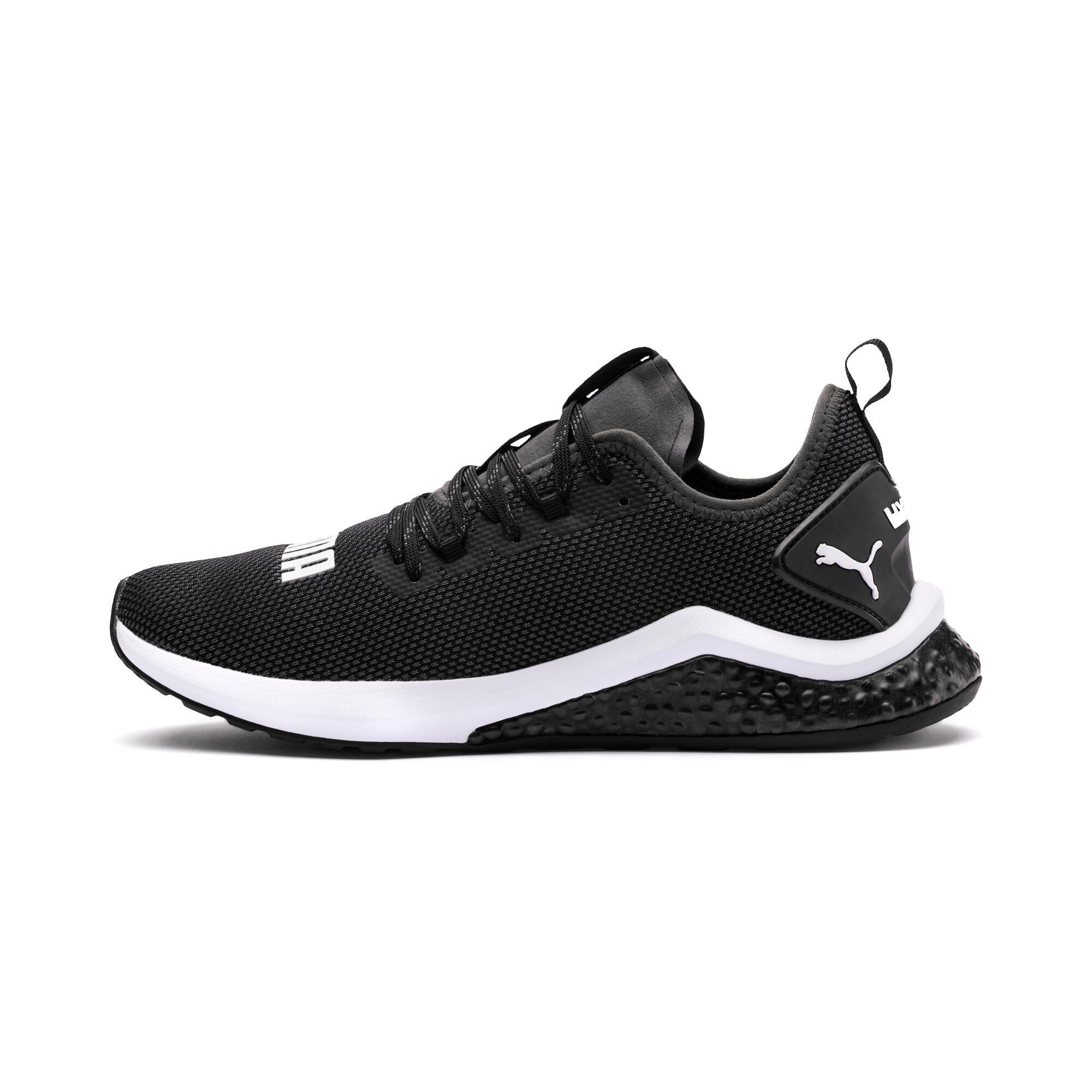 Thumbnail 1 of HYBRID NX Men's Running Shoes, Puma Black-Puma White, medium