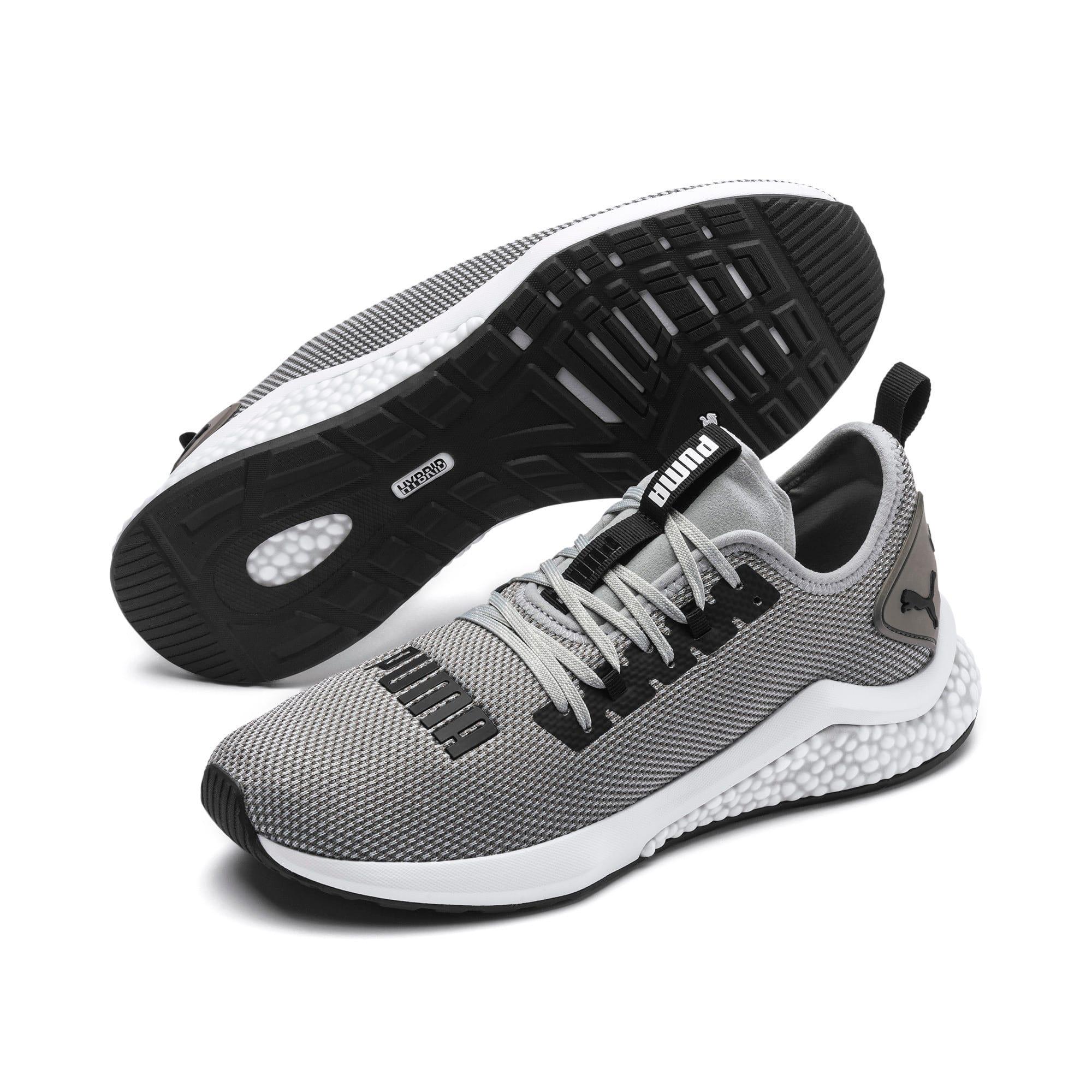 Thumbnail 2 of HYBRID NX Men's Running Shoes, Quarry-Puma White, medium