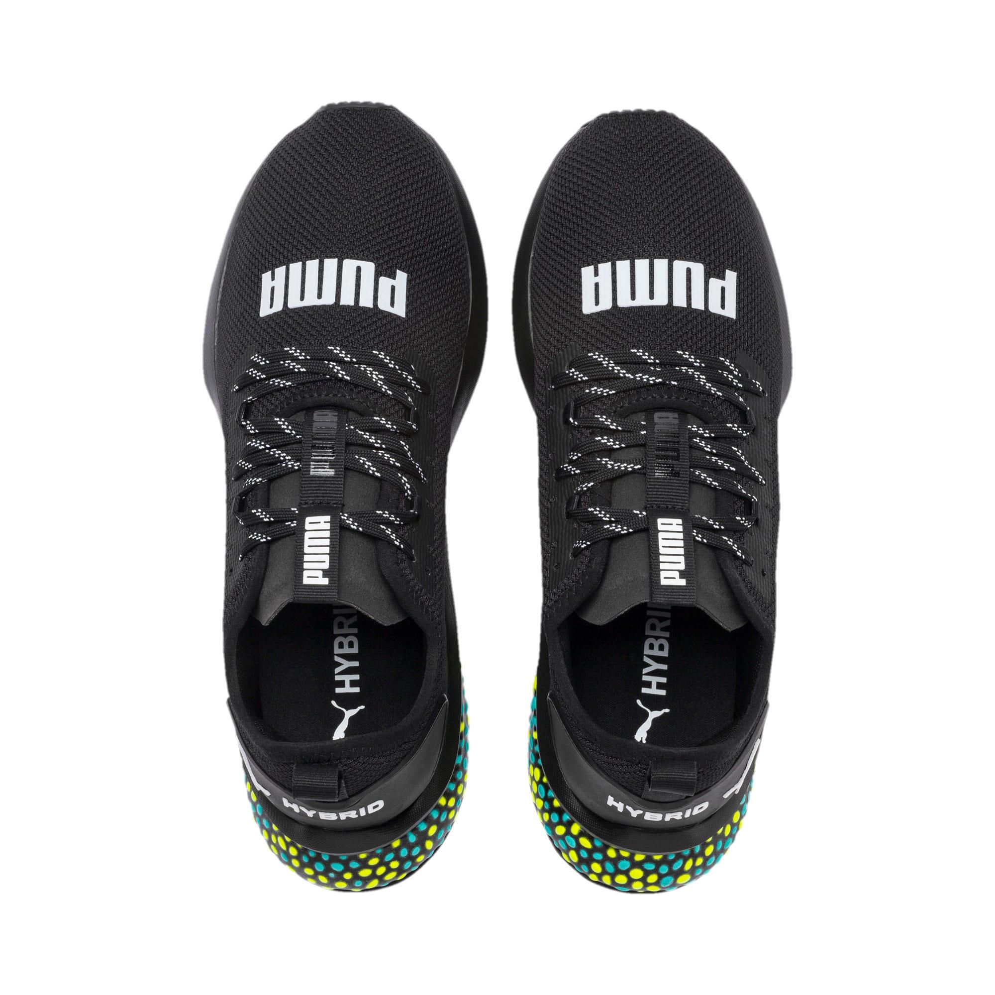 Thumbnail 7 of HYBRID NX Men's Running Shoes, Puma Black-Yellow Alert-Blue, medium