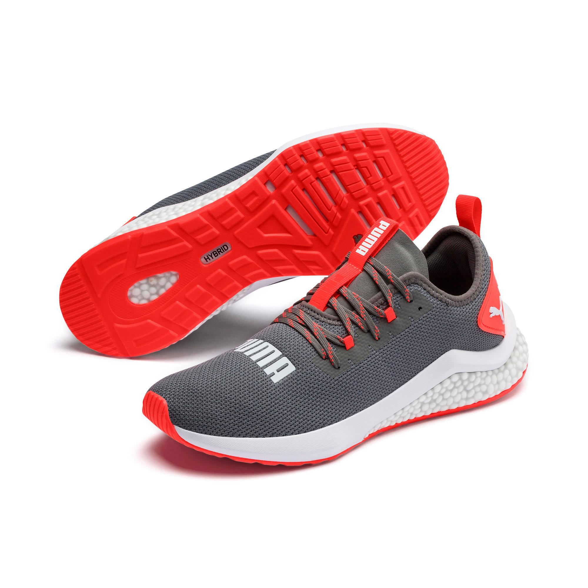 Thumbnail 3 of HYBRID NX Men's Running Shoes, CASTLEROCK-Nrgy Red, medium