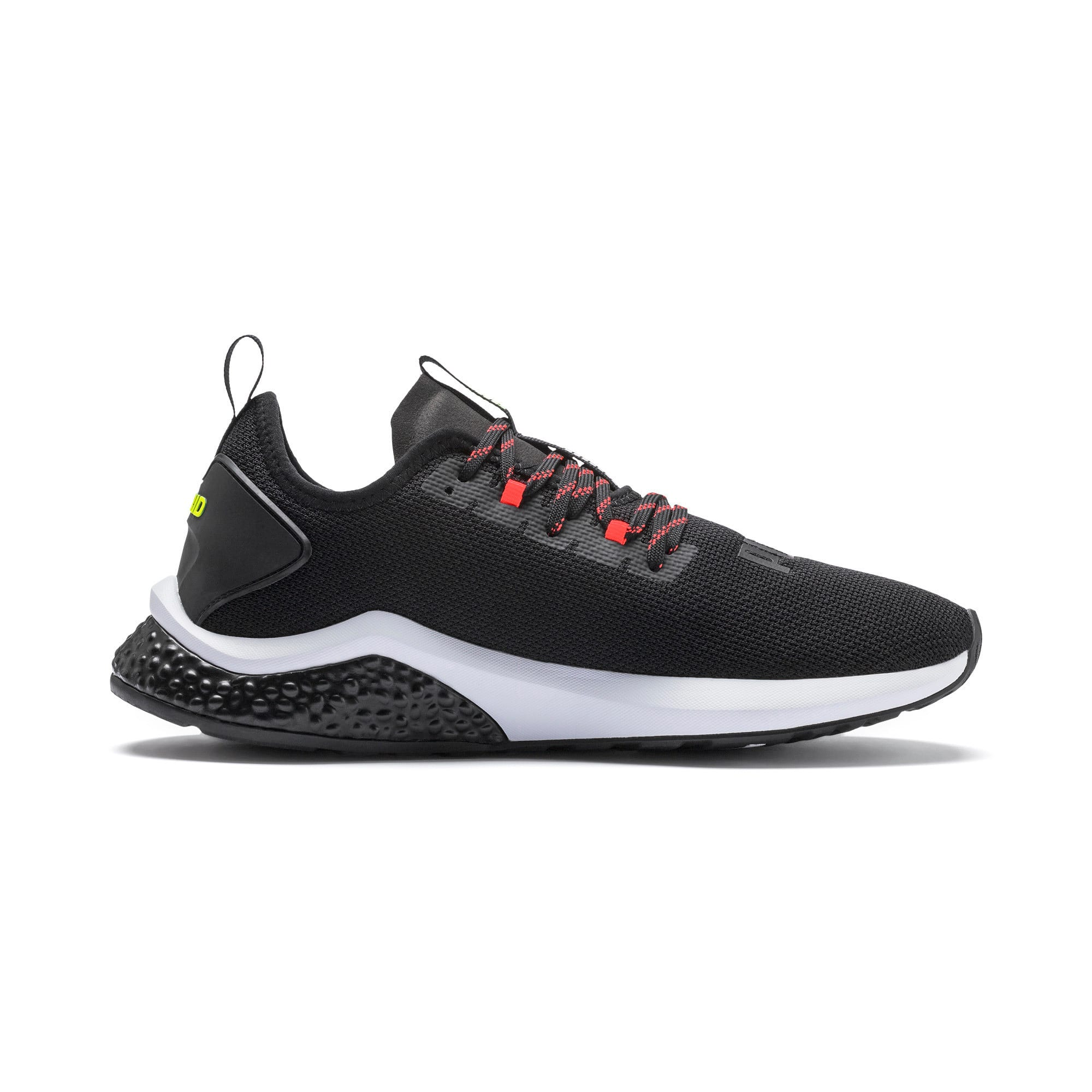 Thumbnail 6 of HYBRID NX Men's Running Shoes, Black-Nrgy Red-Yellow Alert, medium