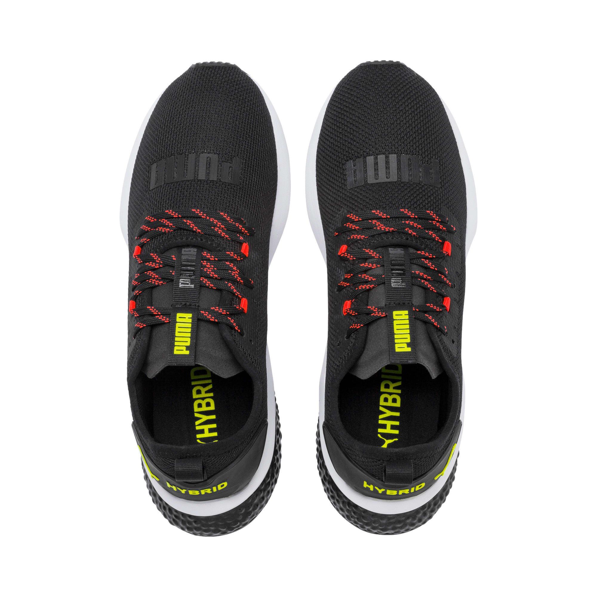 Thumbnail 7 of HYBRID NX Men's Running Shoes, Black-Nrgy Red-Yellow Alert, medium