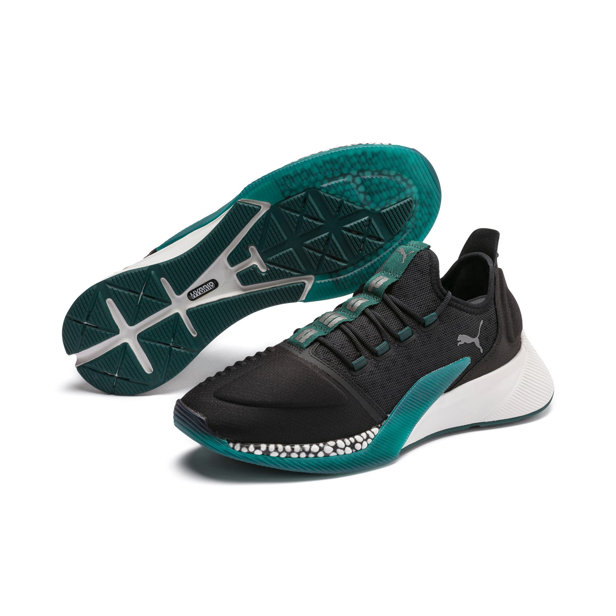 Thumbnail 3 of Chaussure de course Xcelerator, Black-Glacier Gray-Ponderosa, medium