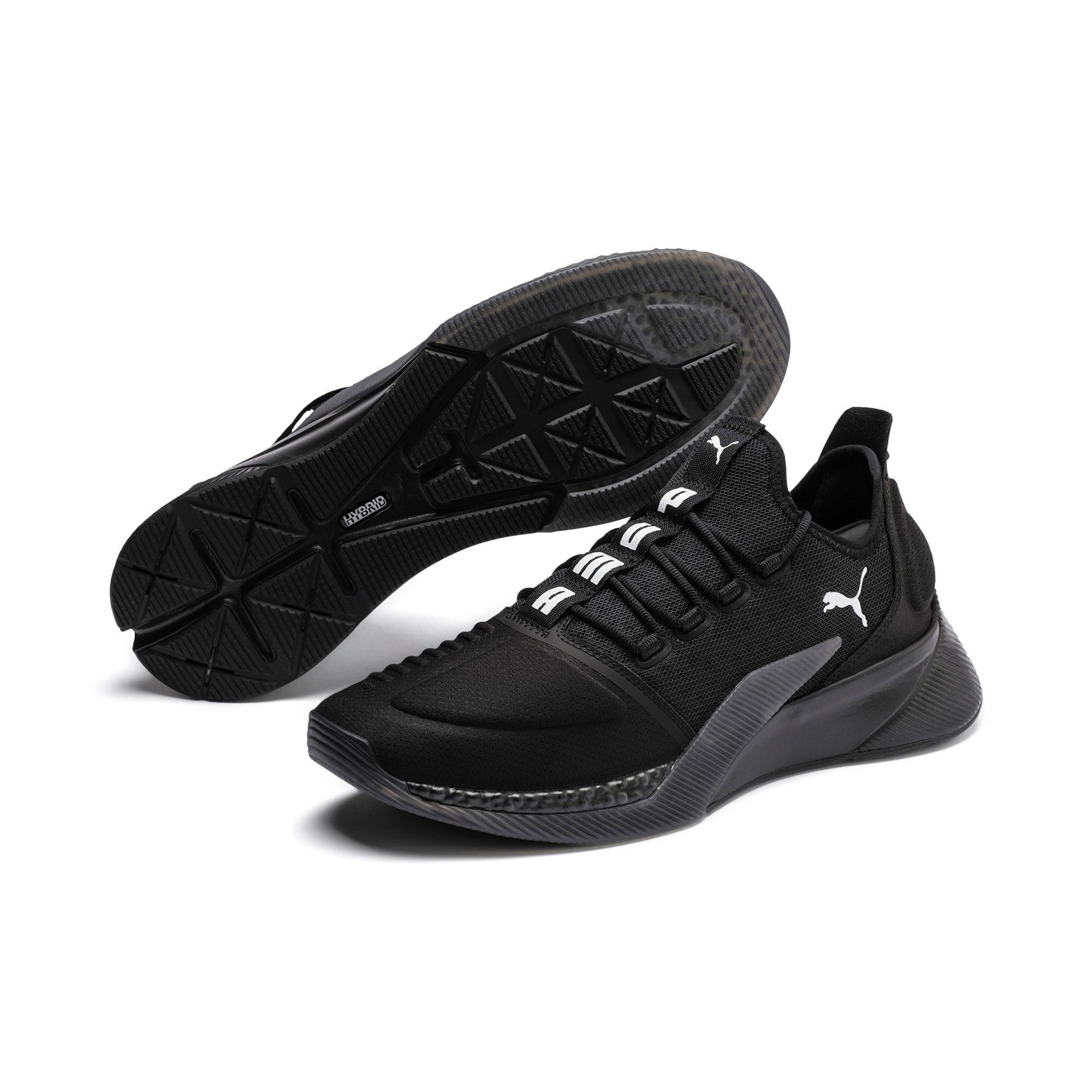 Thumbnail 3 of Xcelerator Running Shoes, Puma Black-Puma Black, medium