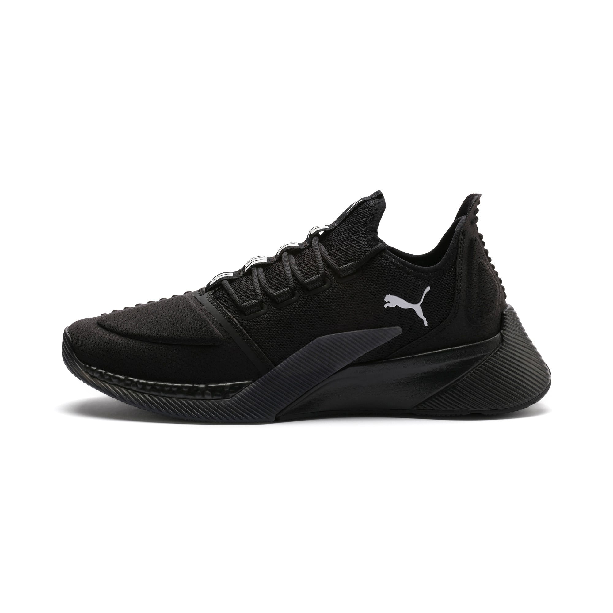 Thumbnail 1 of Xcelerator Running Shoes, Puma Black-Puma Black, medium