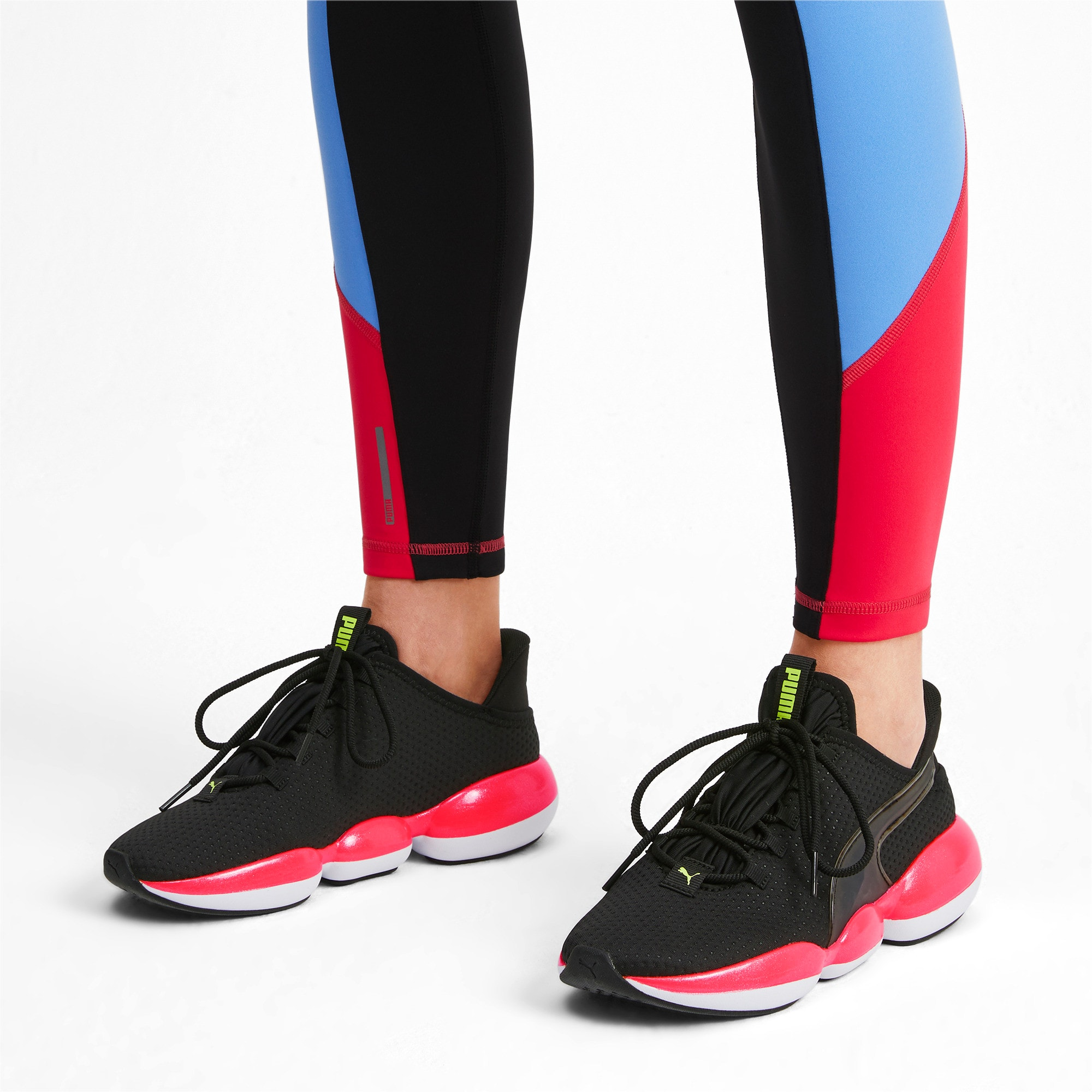 Thumbnail 2 van Mode XT trainingssneakers voor vrouwen, Puma Black-Pink Alert, medium
