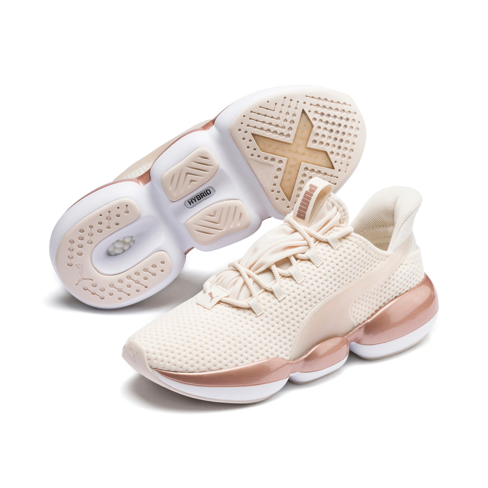 Thumbnail 3 of Mode XT Women's Training Trainers, Pastel Parchment-Rose Gold, medium