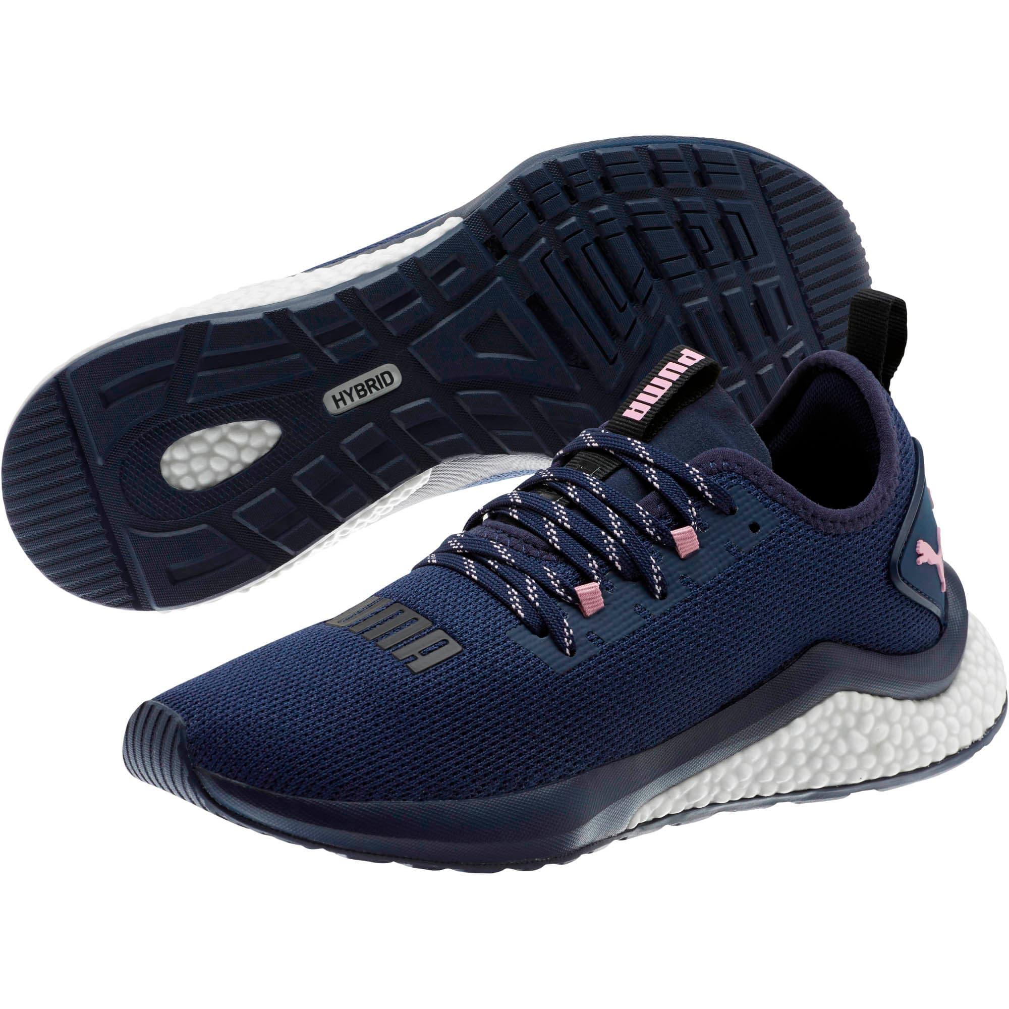 Thumbnail 2 of HYBRID NX Women's Running Shoes, Peacoat-Pale Pink, medium