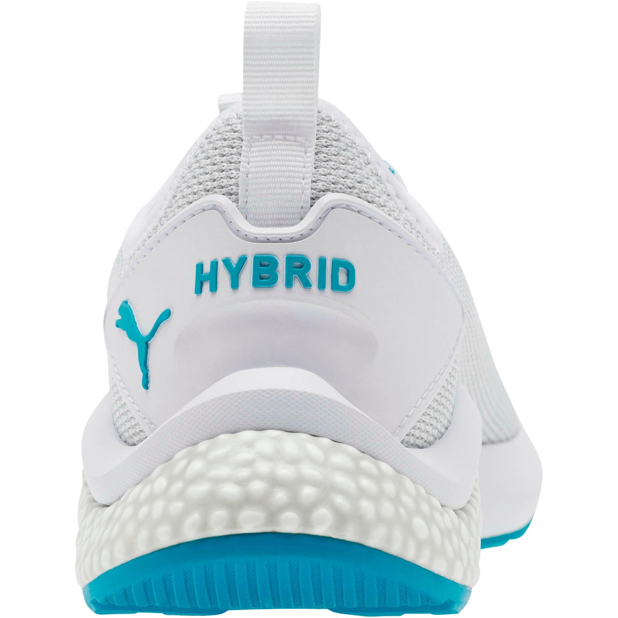 Thumbnail 3 of HYBRID NX Women's Running Shoes, Puma White-Caribbean Sea, medium
