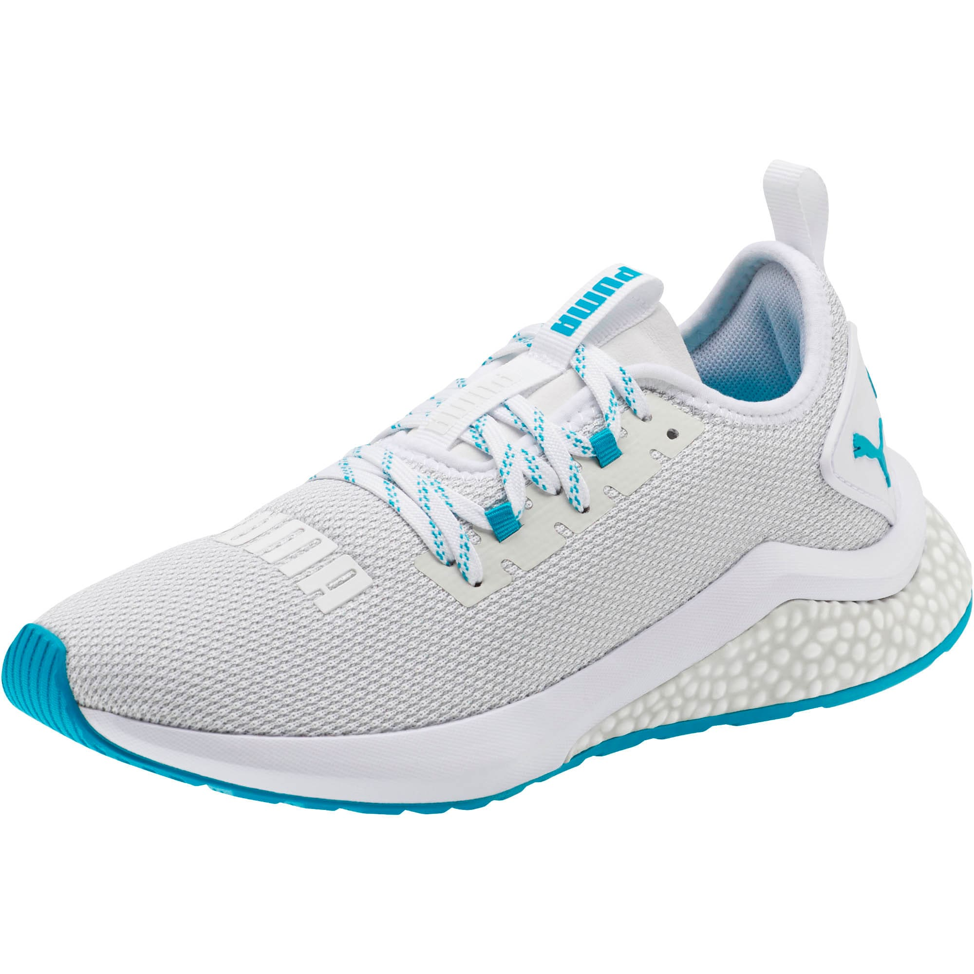 Thumbnail 1 of HYBRID NX Women's Running Shoes, Puma White-Caribbean Sea, medium