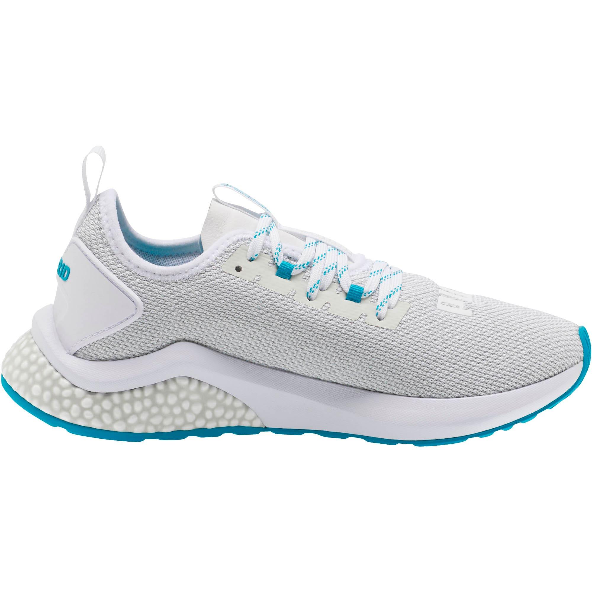 Thumbnail 4 of HYBRID NX Women's Running Shoes, Puma White-Caribbean Sea, medium
