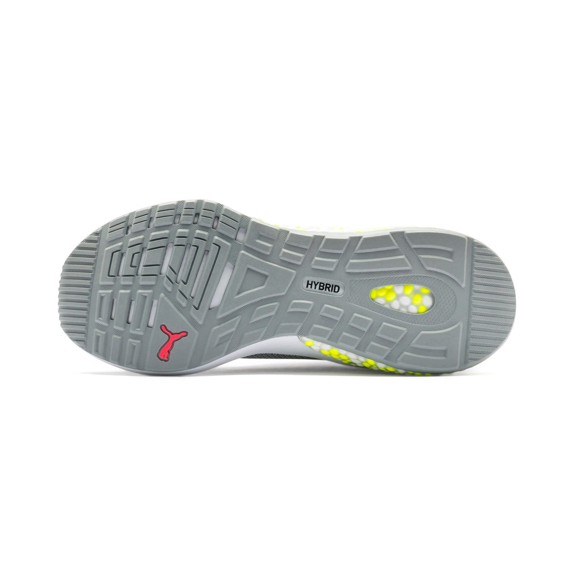 Thumbnail 5 of HYBRID NX Women's Running Shoes, Quarry-PinkAlert-YellowAlert, medium