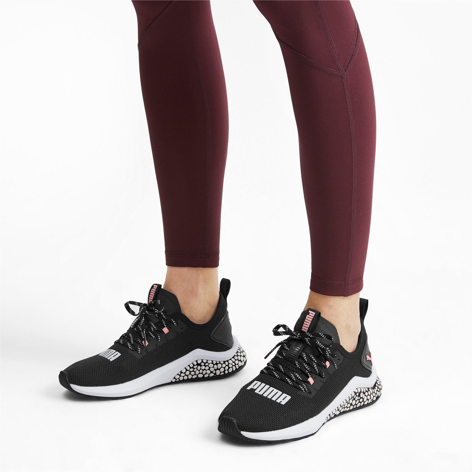 Thumbnail 2 of HYBRID NX Women's Running Shoes, Puma Black-Bridal Rose, medium