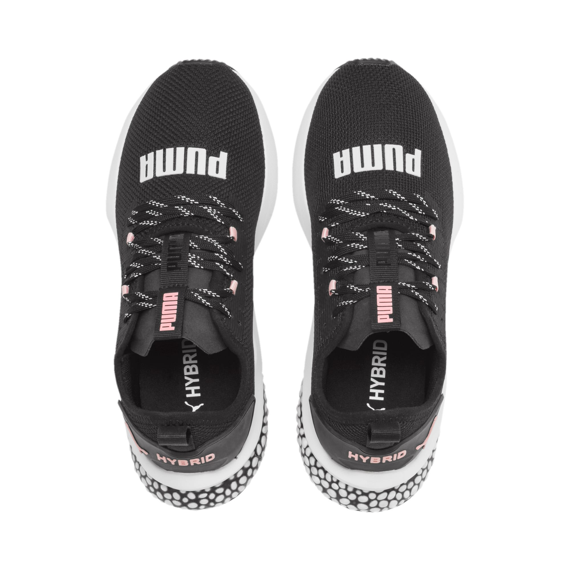 Thumbnail 7 of HYBRID NX Women's Running Shoes, Puma Black-Bridal Rose, medium