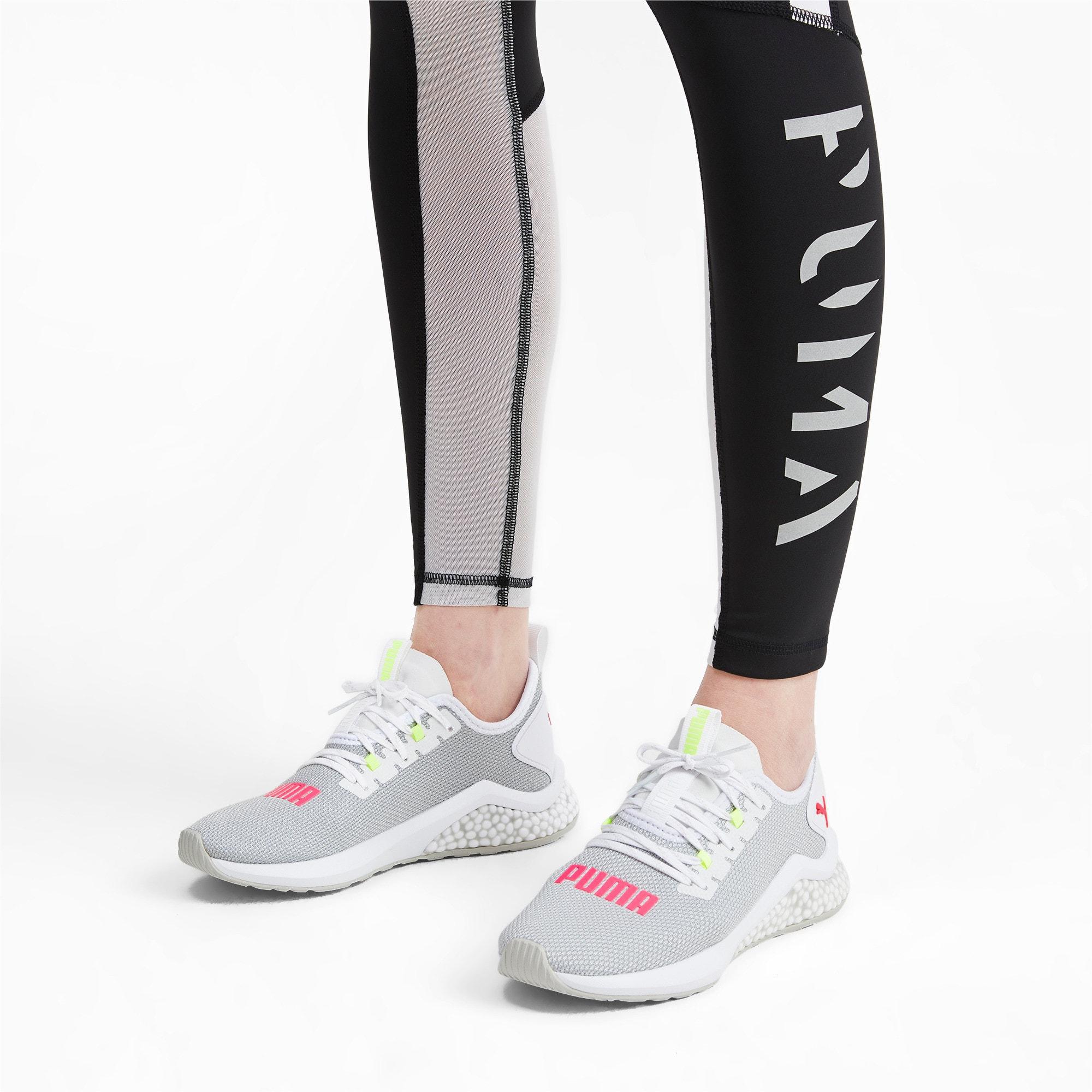 Thumbnail 2 of HYBRID NX Women's Running Shoes, Puma White-Pink Alert, medium