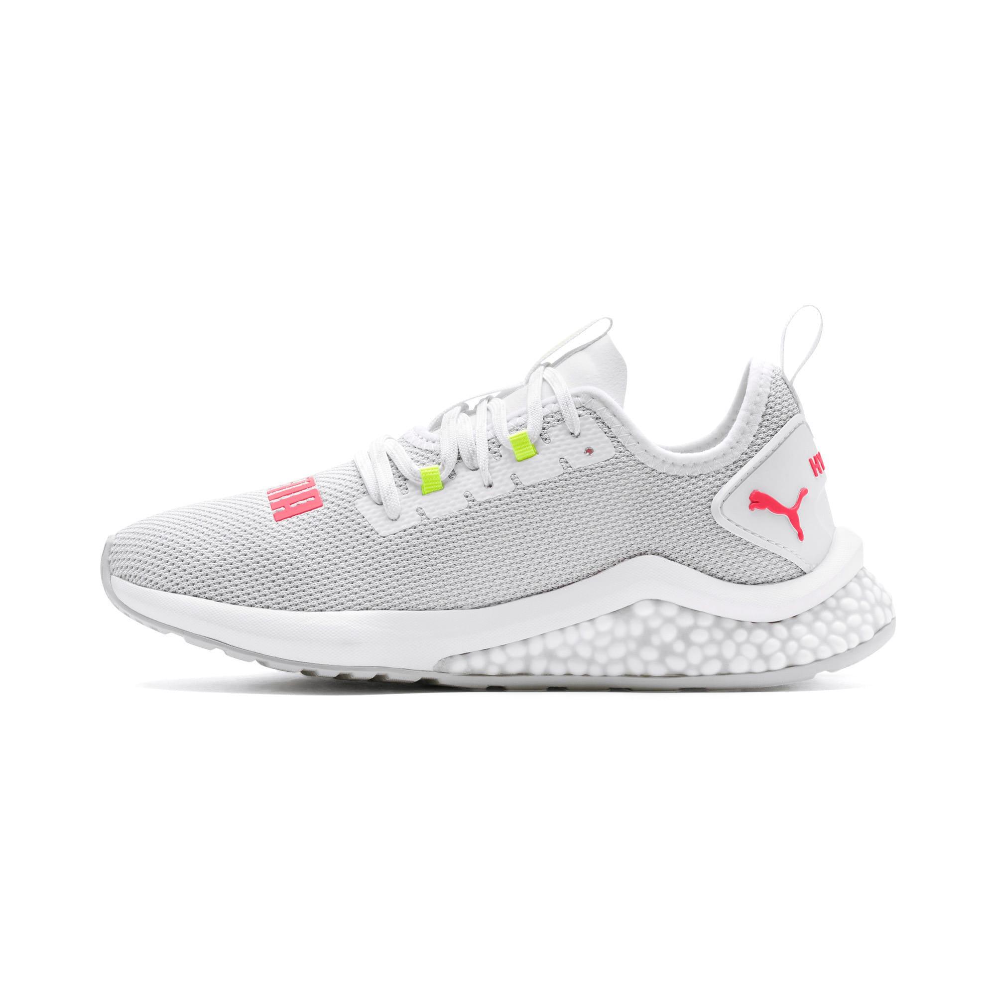 Thumbnail 1 of HYBRID NX Women's Running Shoes, Puma White-Pink Alert, medium