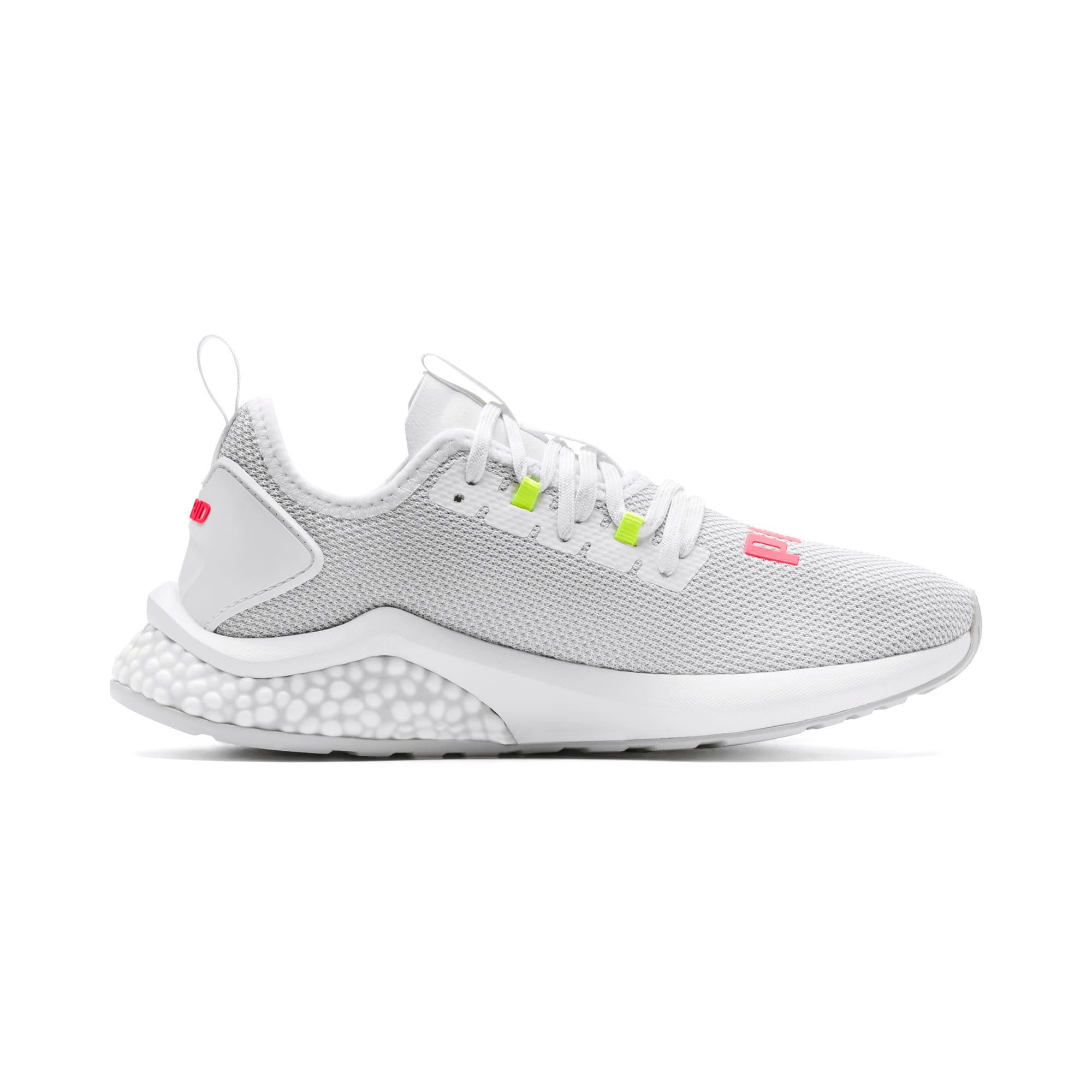 Thumbnail 6 of HYBRID NX Women's Running Shoes, Puma White-Pink Alert, medium
