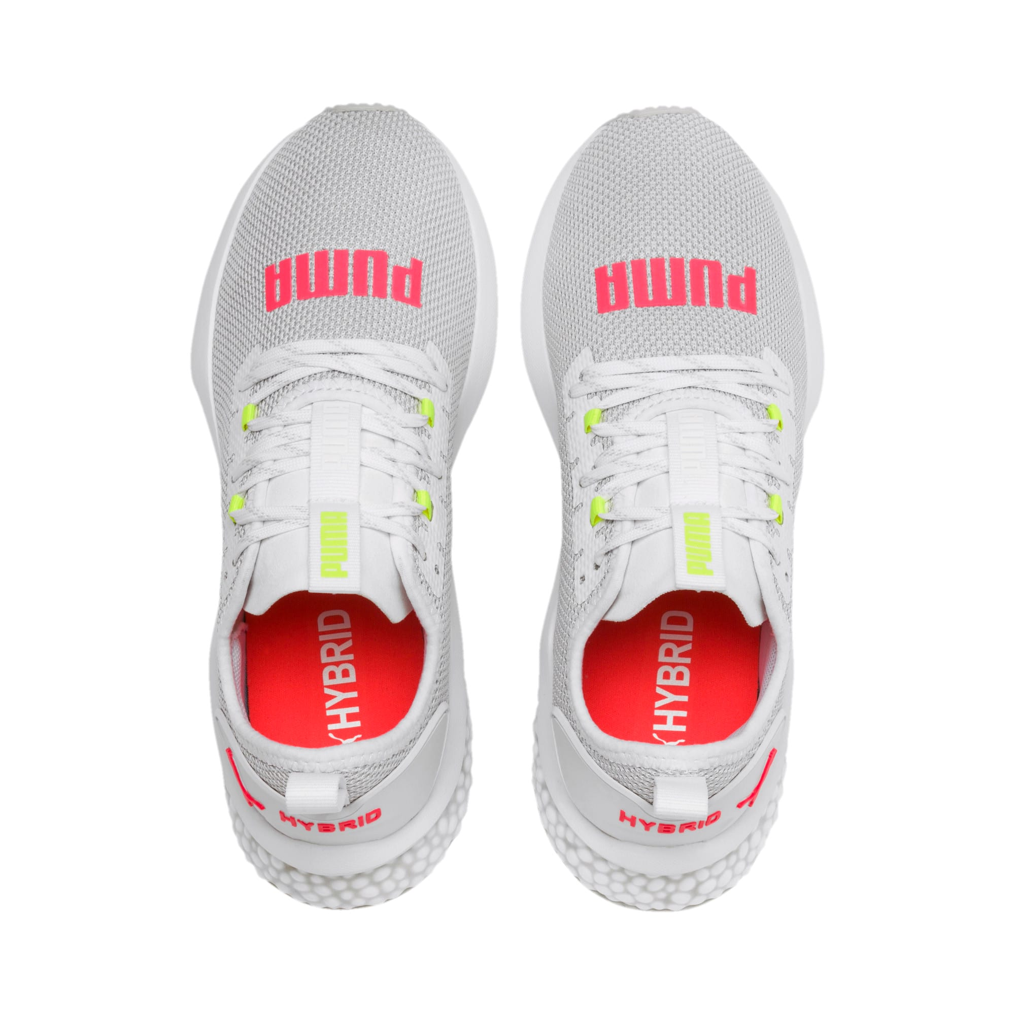 Thumbnail 7 of HYBRID NX Women's Running Shoes, Puma White-Pink Alert, medium