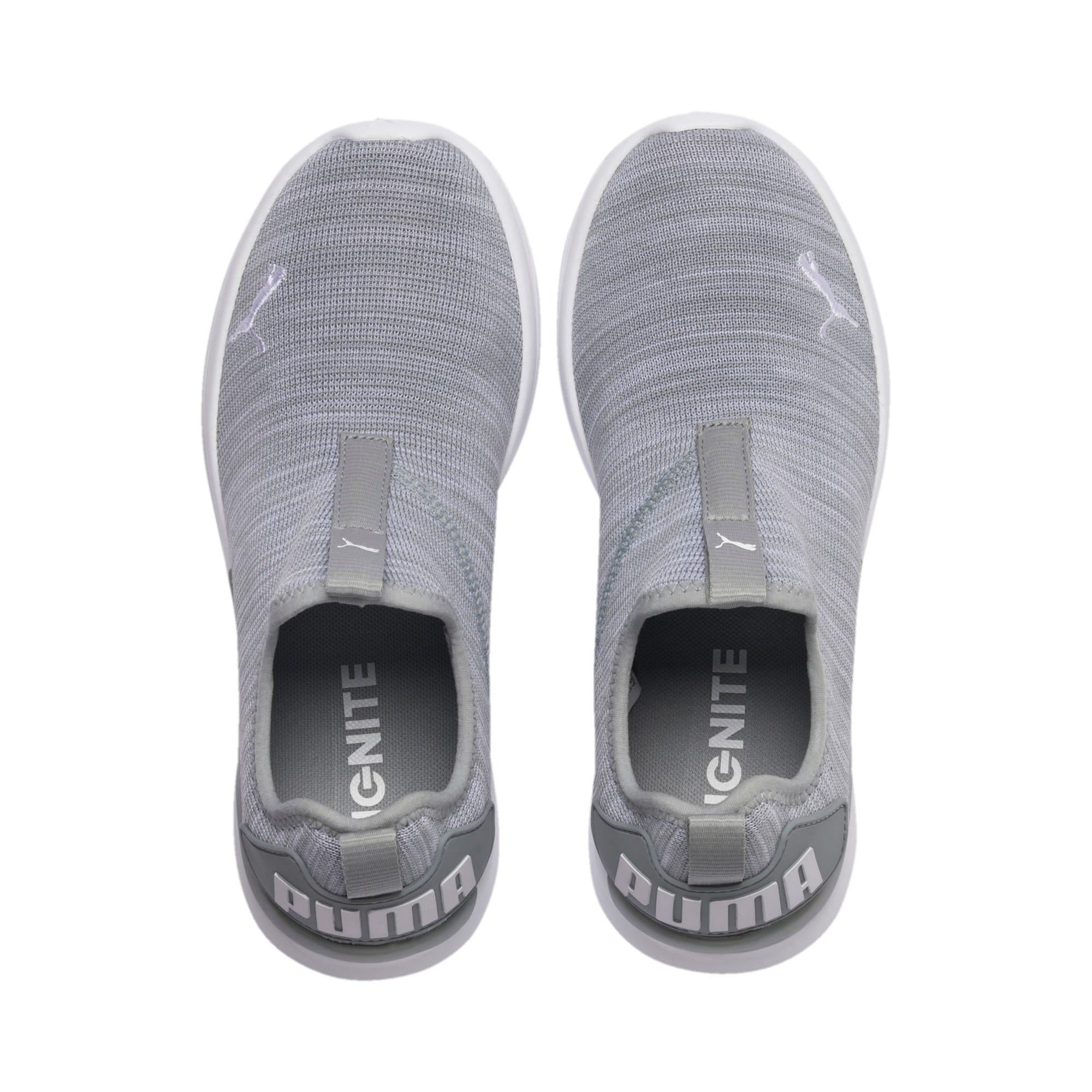 Thumbnail 6 of IGNITE Flash Summer Slip Women's Training Shoes, Quarry-Puma White, medium
