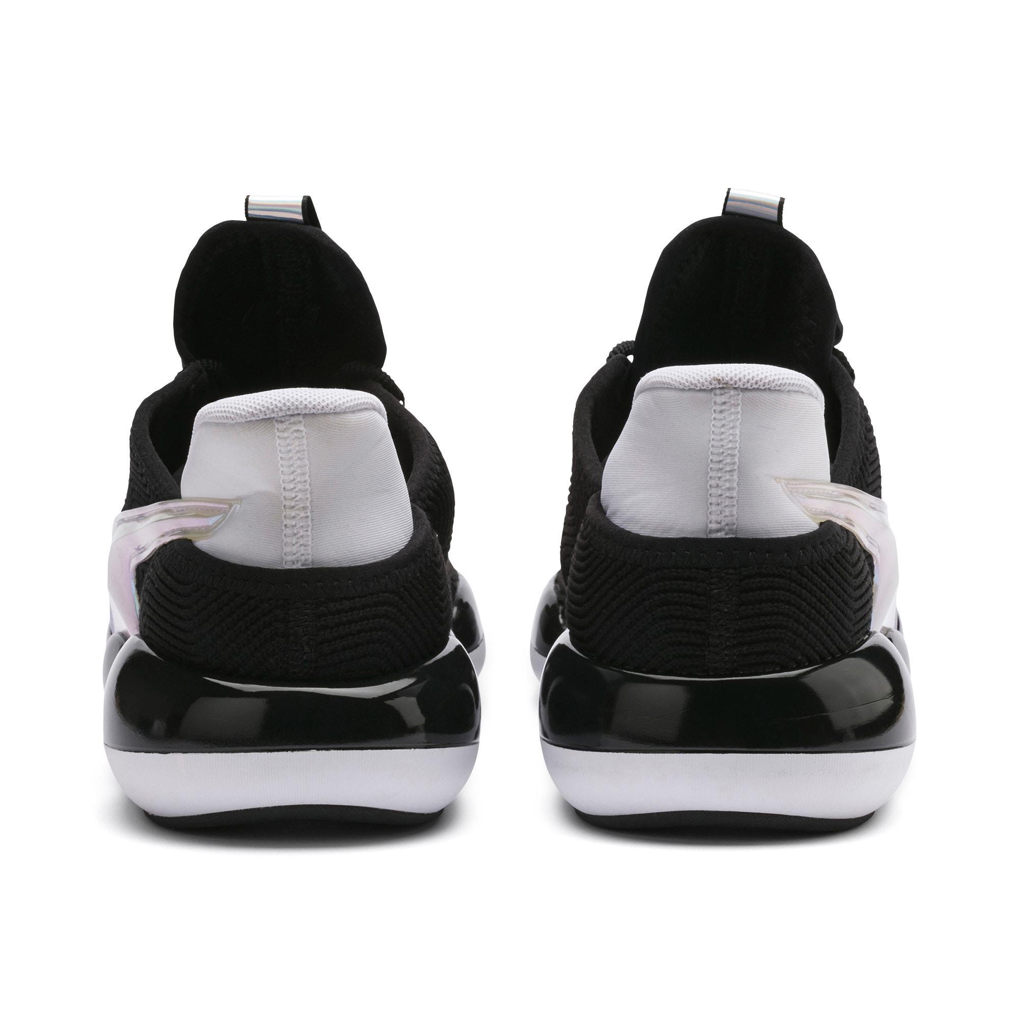 Thumbnail 4 van Mode XT Trailblazer iriserende sneakers voor dames, Puma Black-Puma White, medium