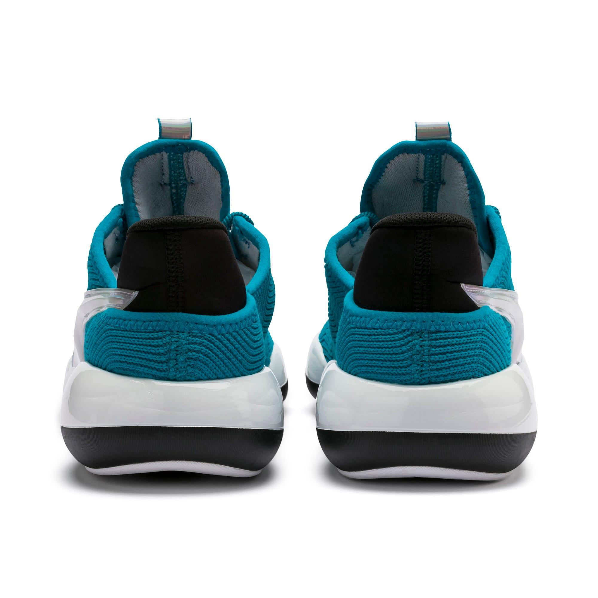 Imagen en miniatura 4 de Zapatillas de mujer Mode XT Iridescent Trailblazer, Caribbean Sea-Puma White, mediana
