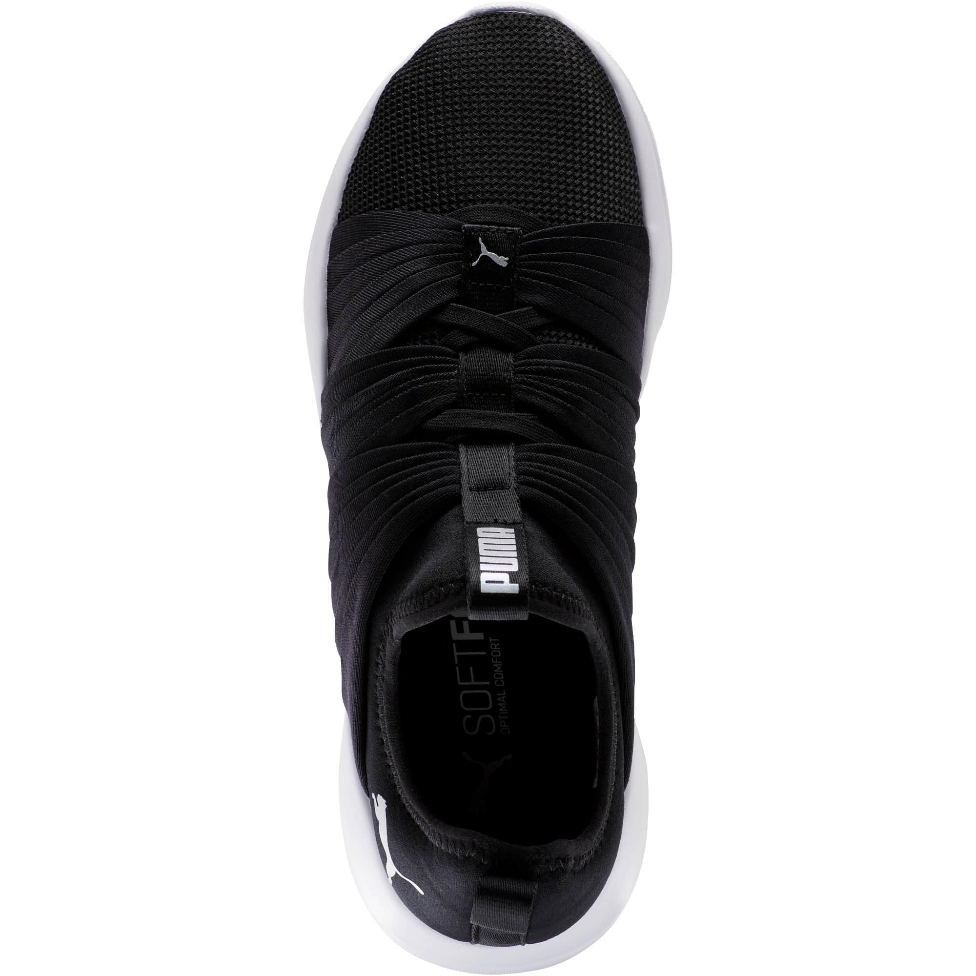 Thumbnail 5 of Flourish Stellar Women's Training Shoes, Puma Black-Puma White, medium