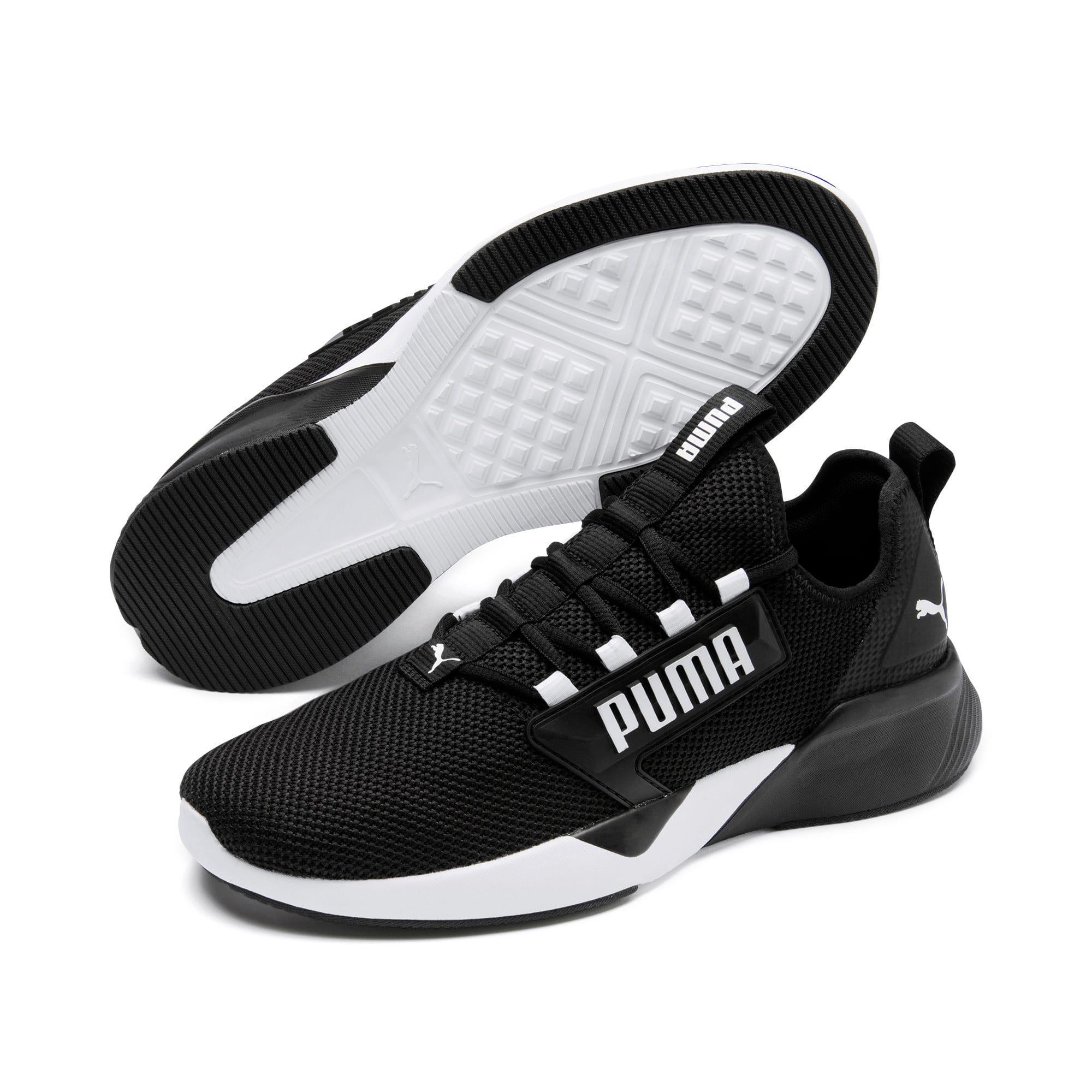 Thumbnail 2 of Retaliate Men's Training Shoes, Puma Black-Puma White, medium
