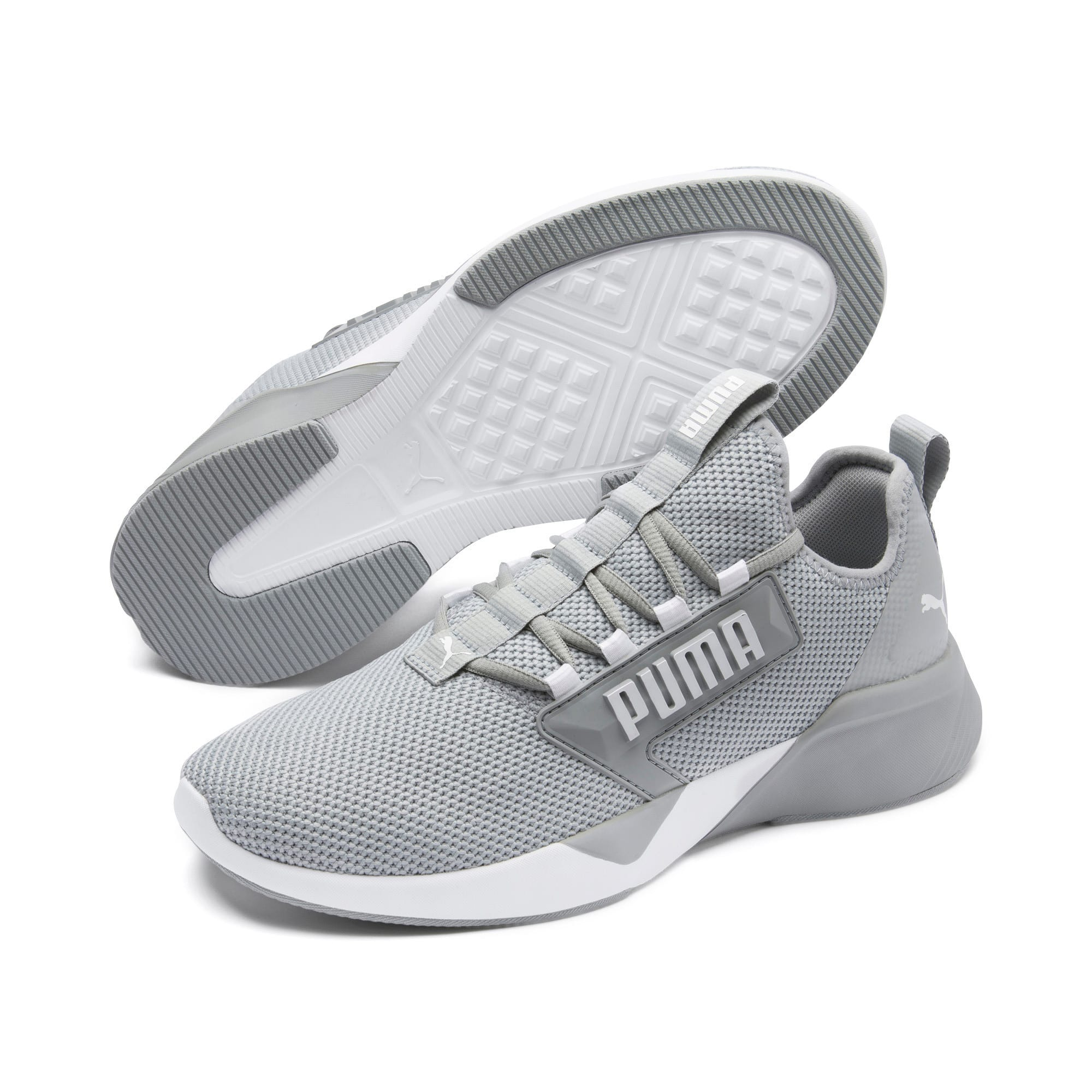 Thumbnail 2 of Retaliate Men's Training Shoes, Quarry-Puma Black, medium