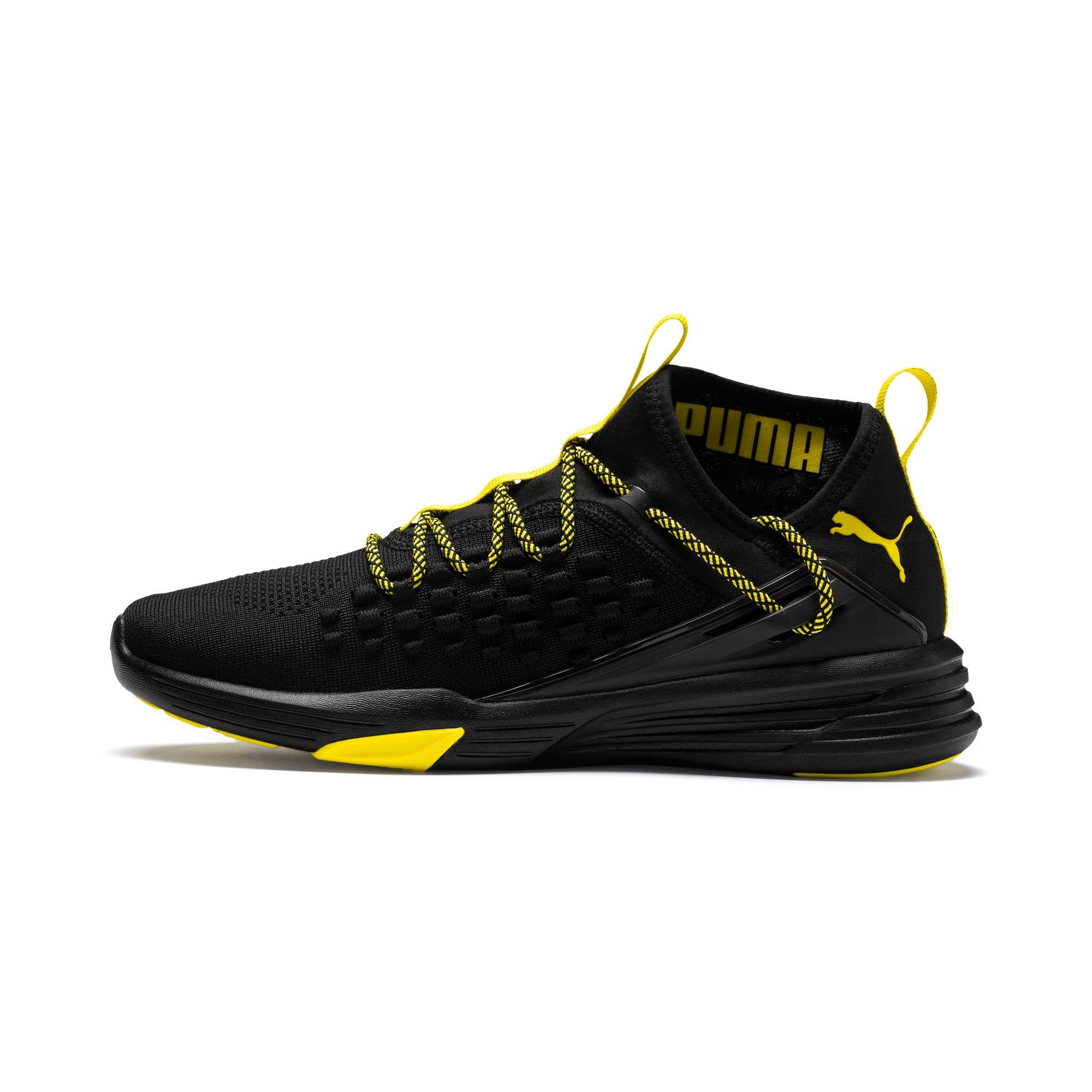 Thumbnail 1 of Mantra Caution Men's Training Shoes, Puma Black-Blazing Yellow, medium