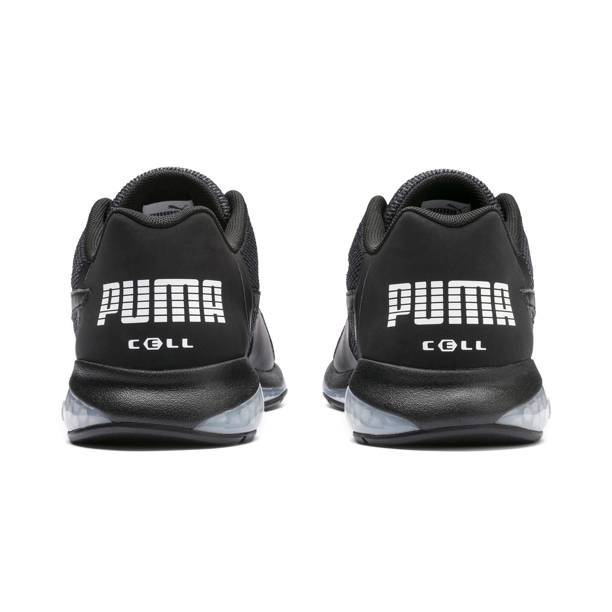 Thumbnail 3 of Cell Ultimate Point Knitted Men's Running Shoes, Puma Black-Puma White, medium-IND