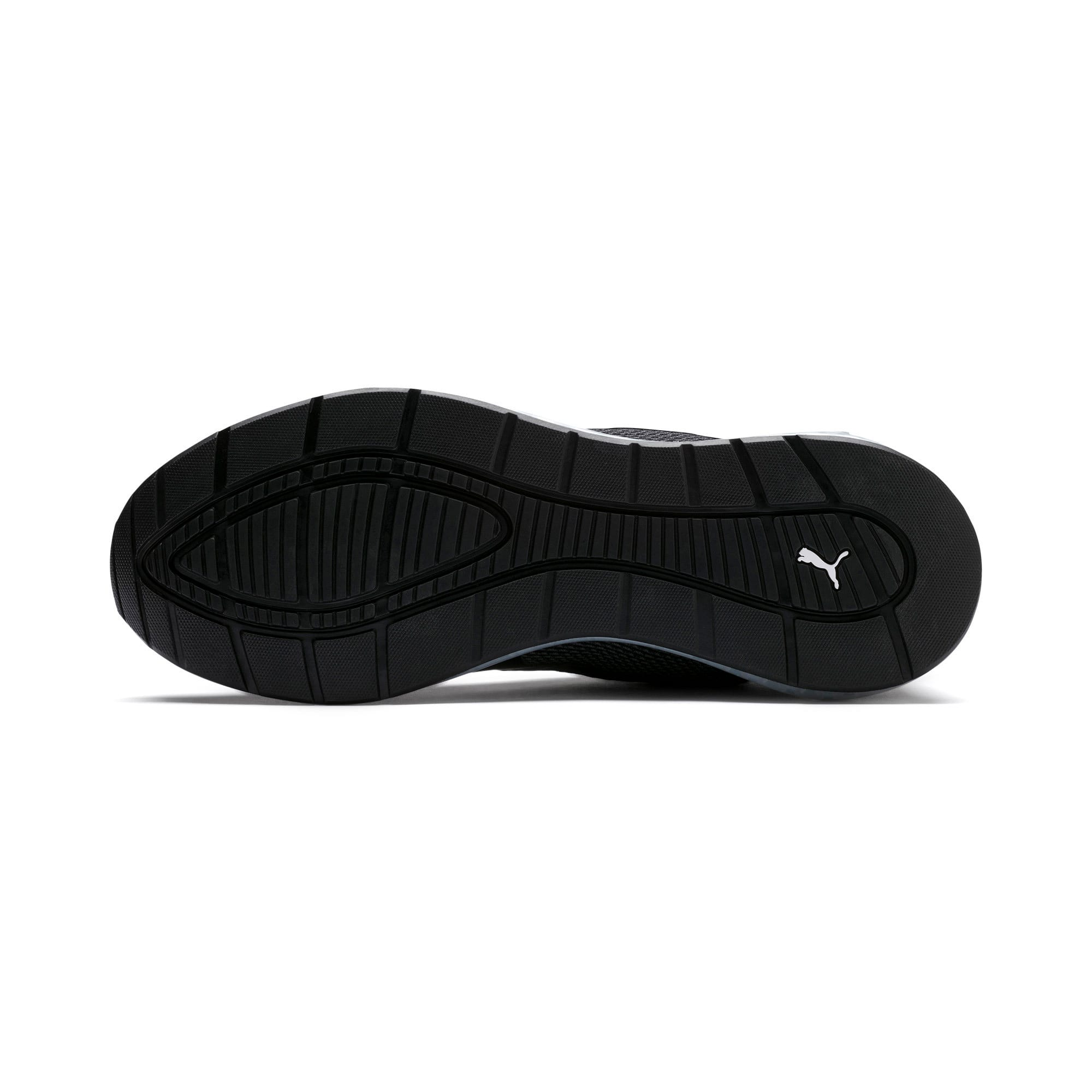 Thumbnail 4 of Cell Ultimate Point Knitted Men's Running Shoes, Puma Black-Puma White, medium-IND
