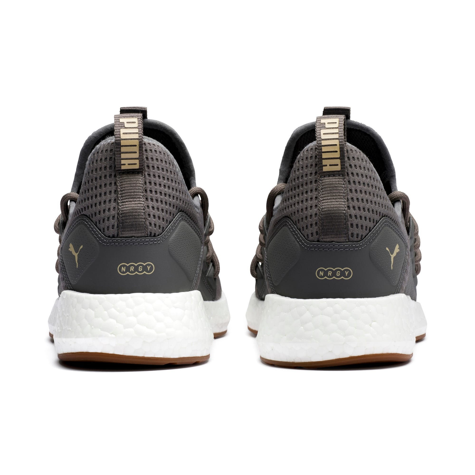 Thumbnail 3 of NRGY Neko Future Men's Running Shoes, Charcoal Gray-Taos Taupe, medium