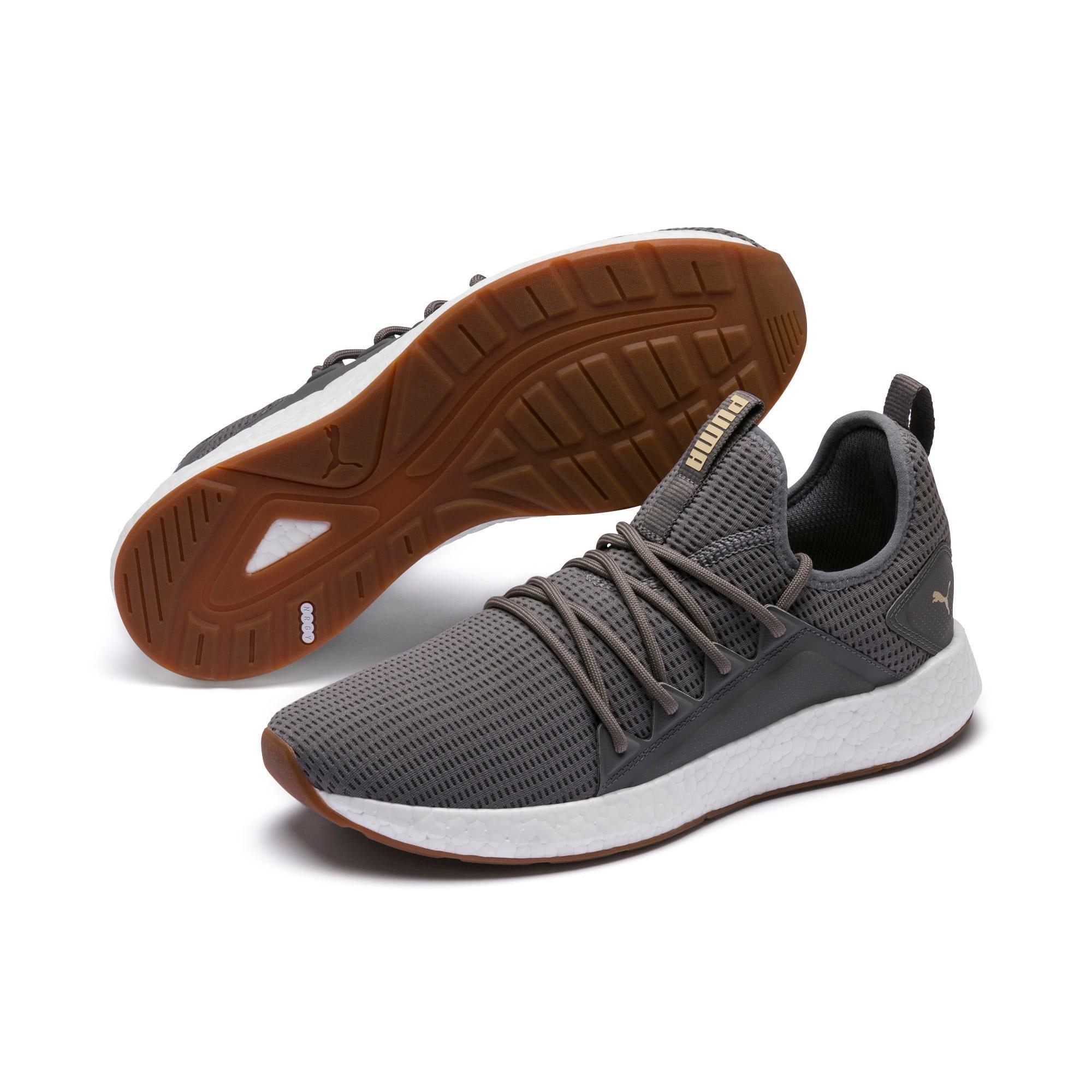 Thumbnail 2 of NRGY Neko Future Men's Running Shoes, Charcoal Gray-Taos Taupe, medium
