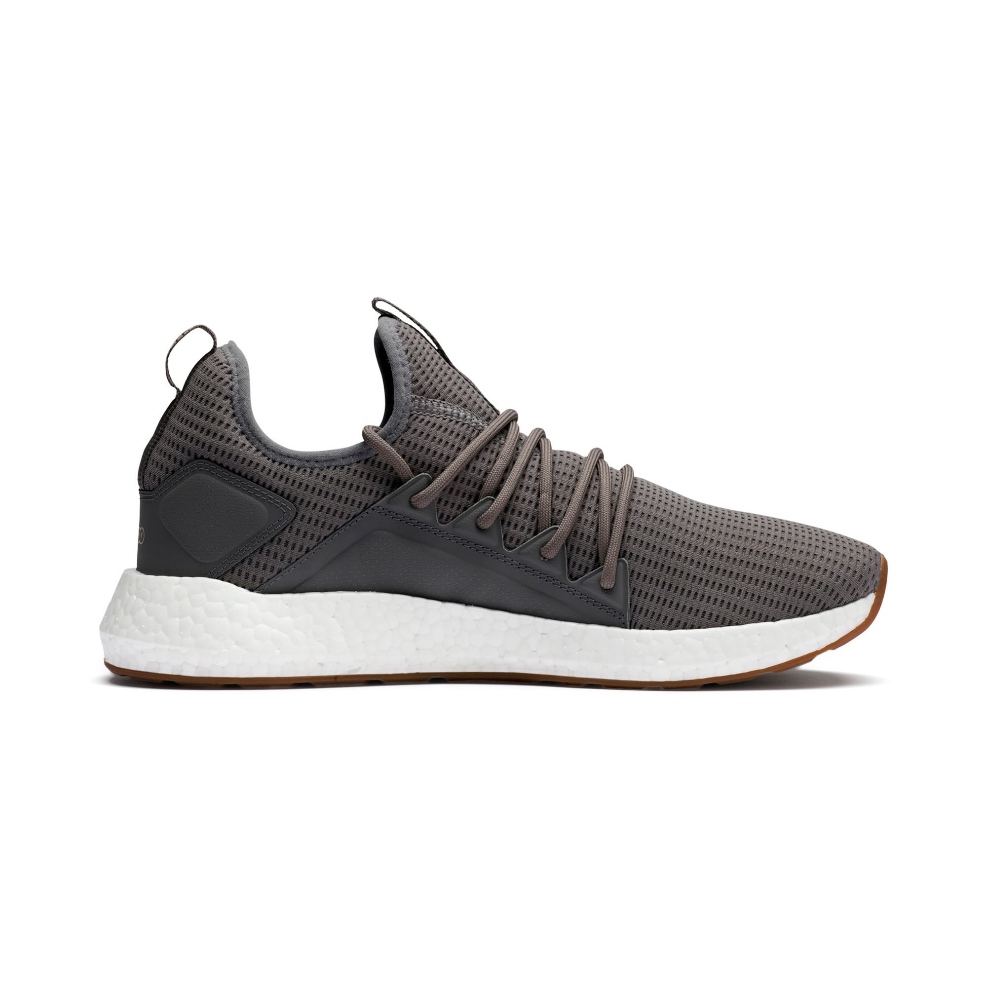 Thumbnail 5 of NRGY Neko Future Men's Trainers, Charcoal Gray-Taos Taupe, medium-IND