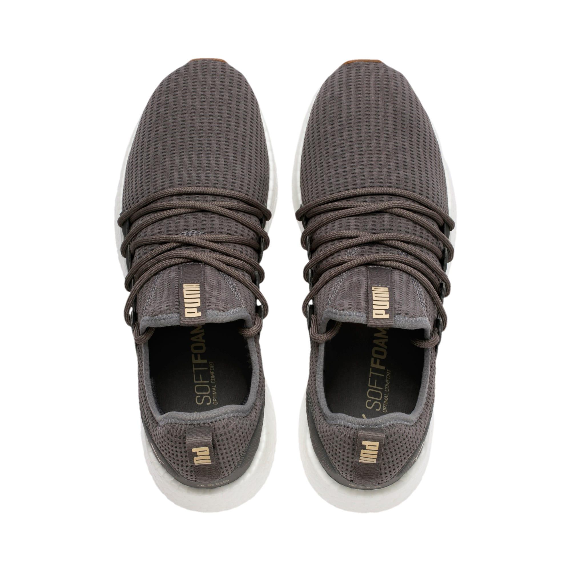 Thumbnail 6 of NRGY Neko Future Men's Running Shoes, Charcoal Gray-Taos Taupe, medium