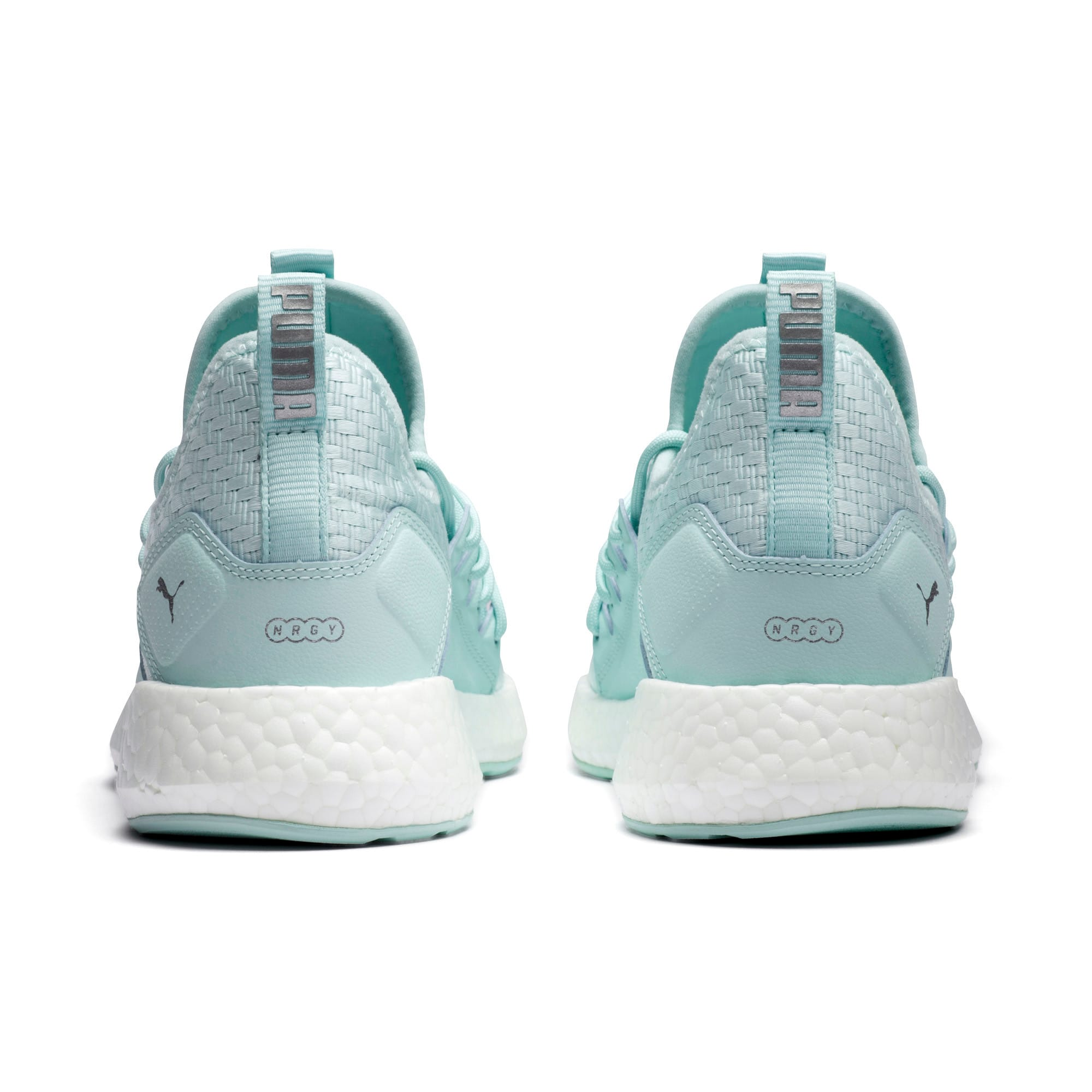 Thumbnail 3 of NRGY Neko Cosmic Women's Running Trainers, Fair Aqua-Puma White, medium