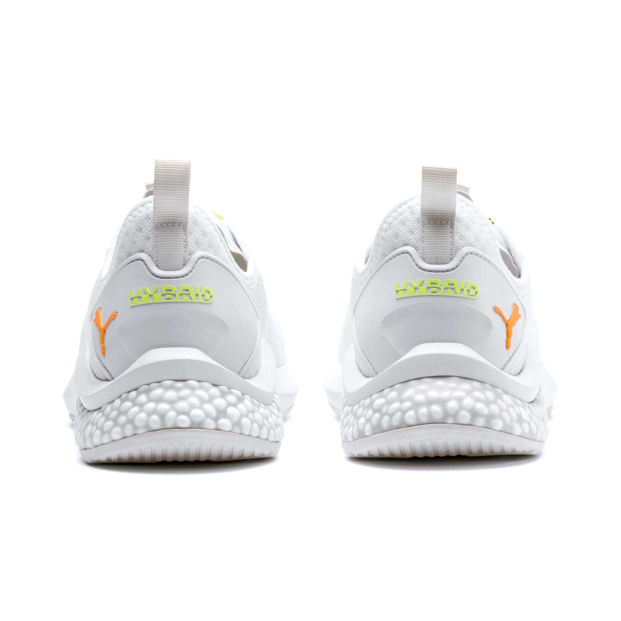 Thumbnail 4 of HYBRID NX Daylight Men's Running Shoes, White-Orange Pop-FizzyYellow, medium