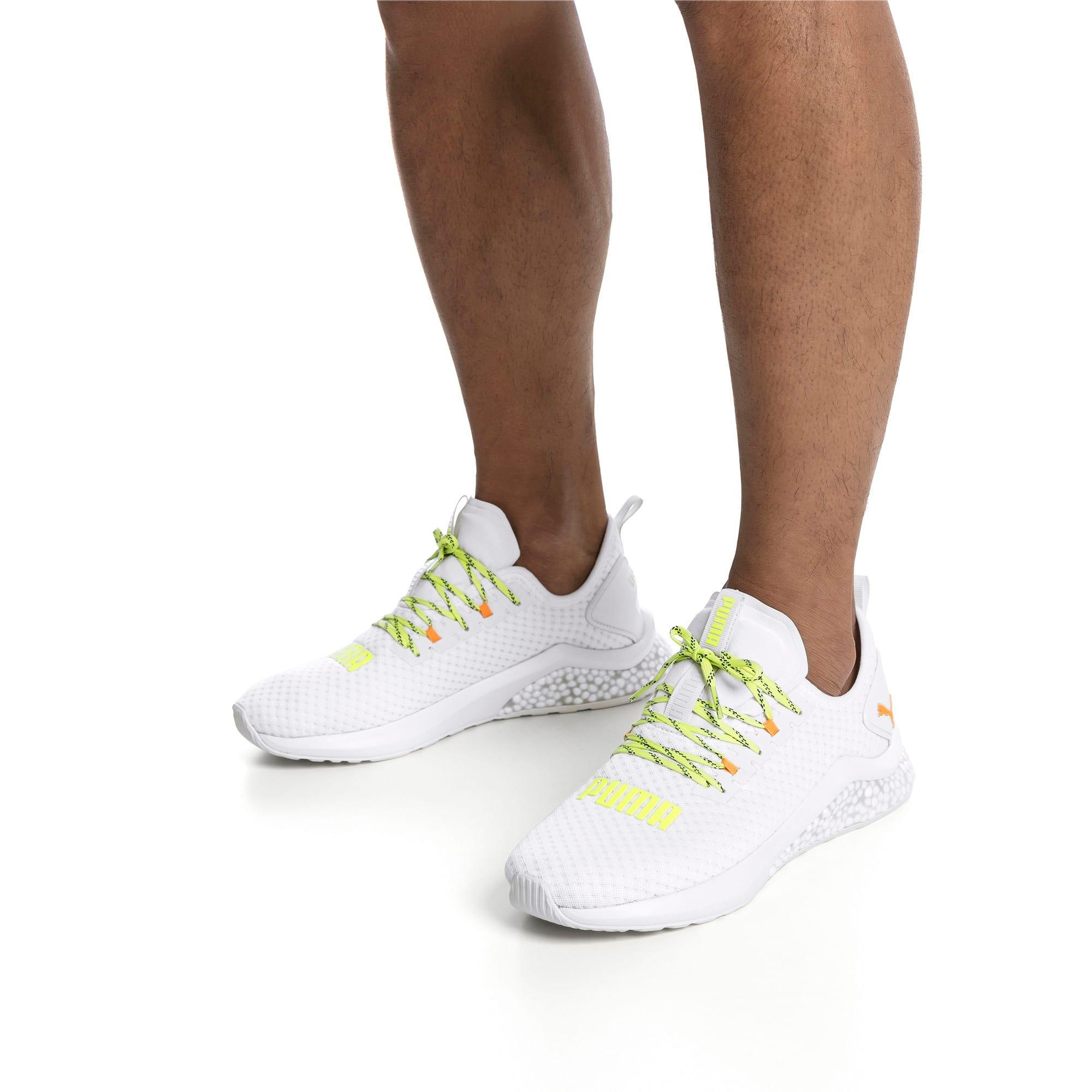Thumbnail 2 of HYBRID NX Daylight Men's Running Shoes, White-Orange Pop-FizzyYellow, medium