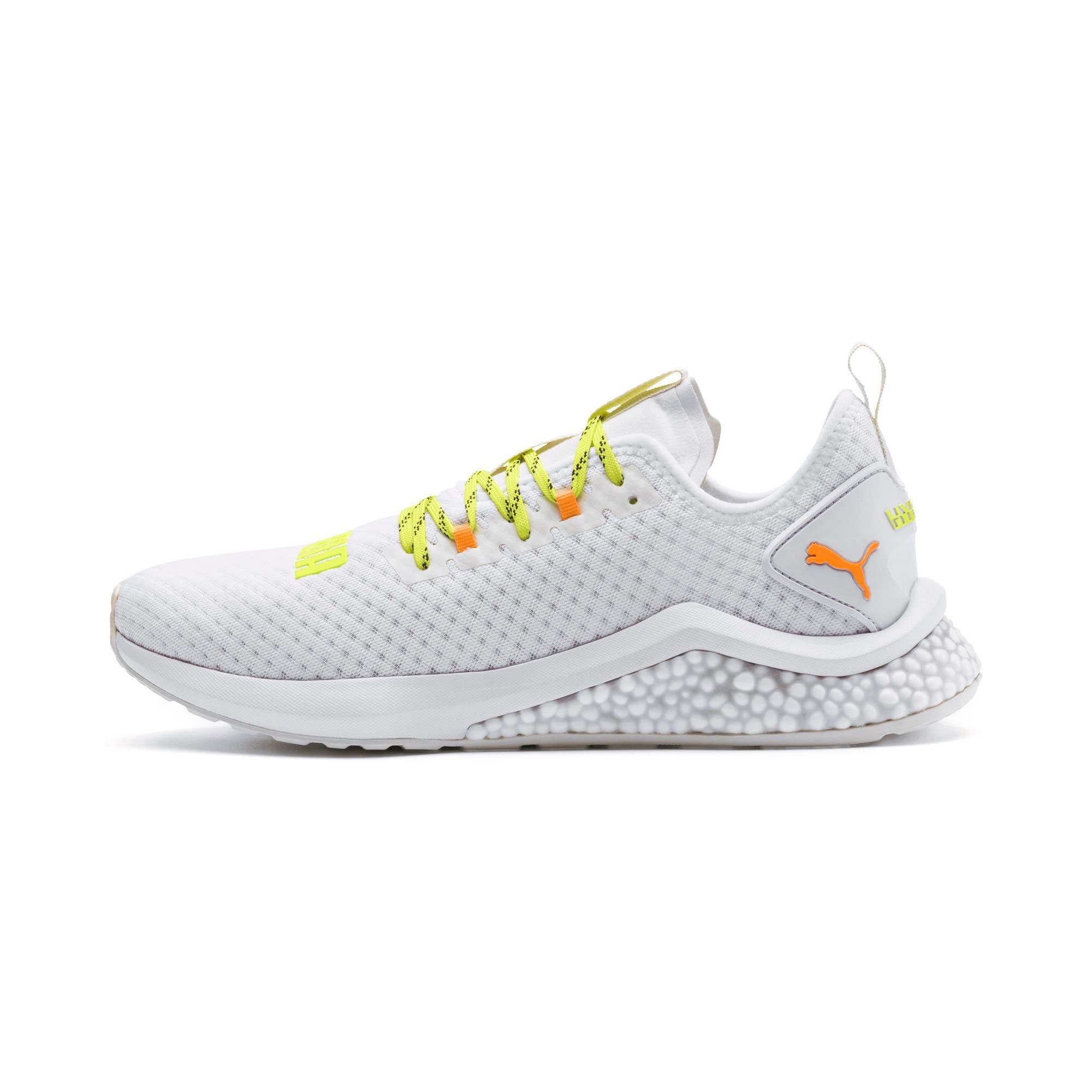 Thumbnail 1 of HYBRID NX Daylight Men's Running Shoes, White-Orange Pop-FizzyYellow, medium