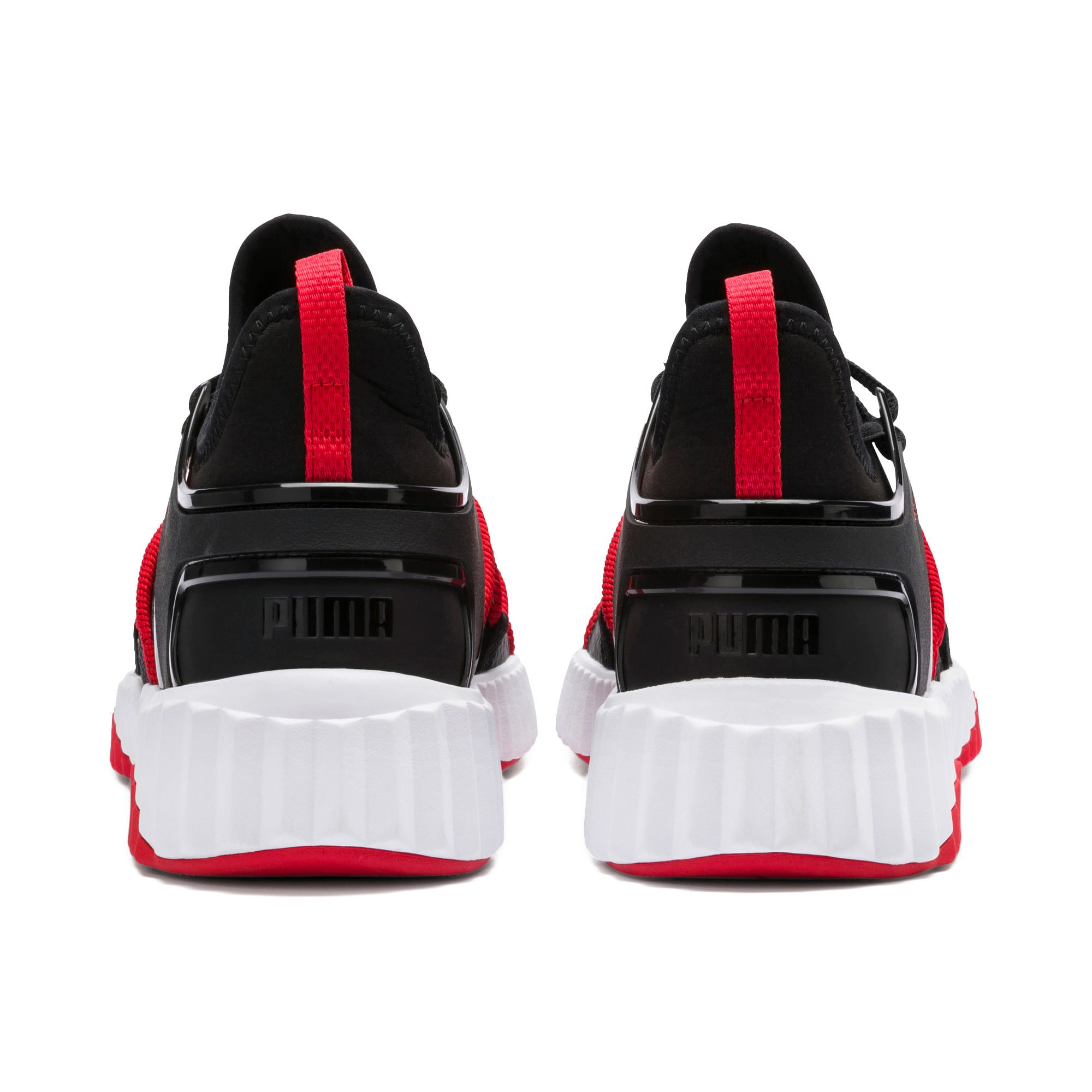 Thumbnail 4 of Defy Deco Men's Training Shoes, Puma Black-High Risk Red, medium