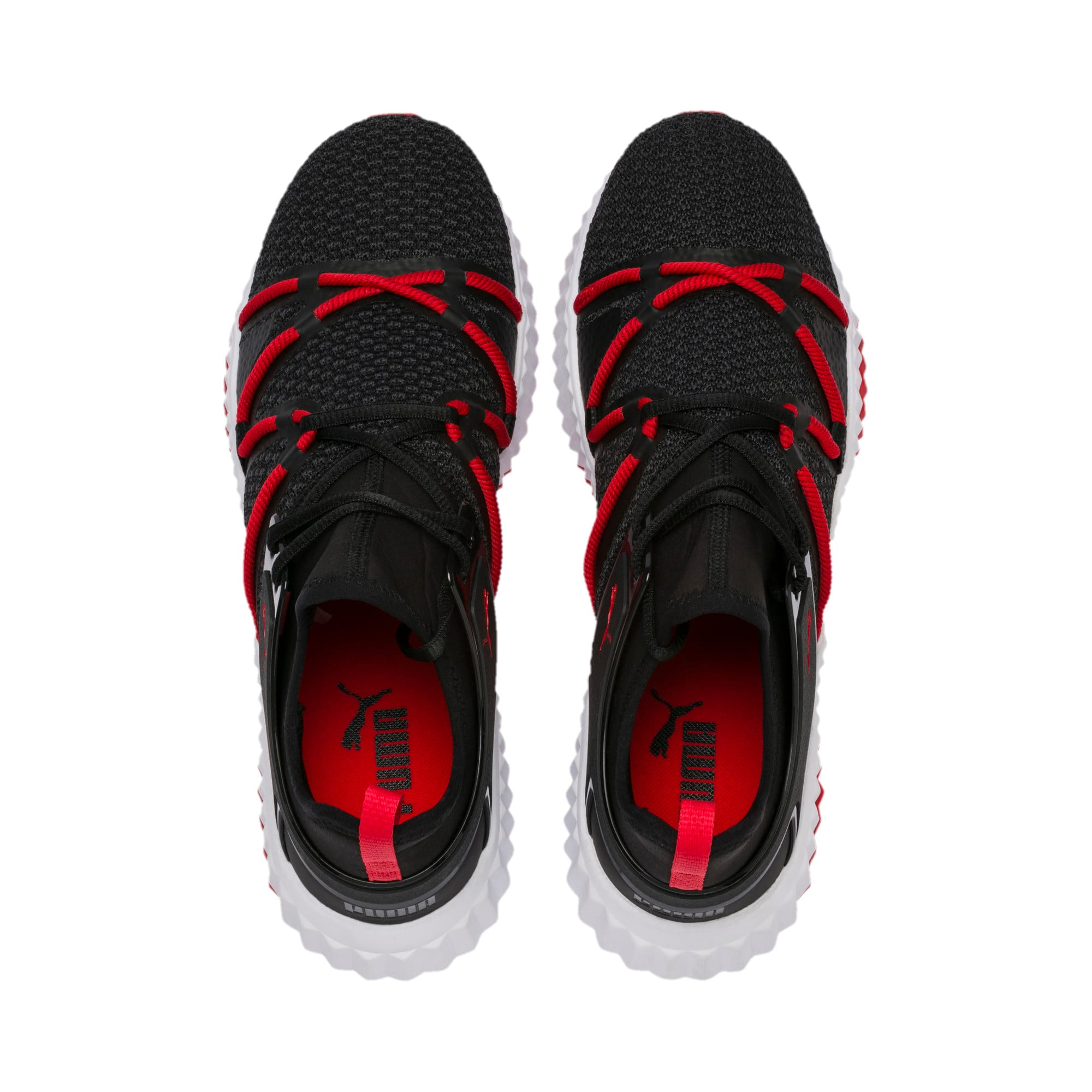 Thumbnail 6 of Defy Deco Men's Training Shoes, Puma Black-High Risk Red, medium