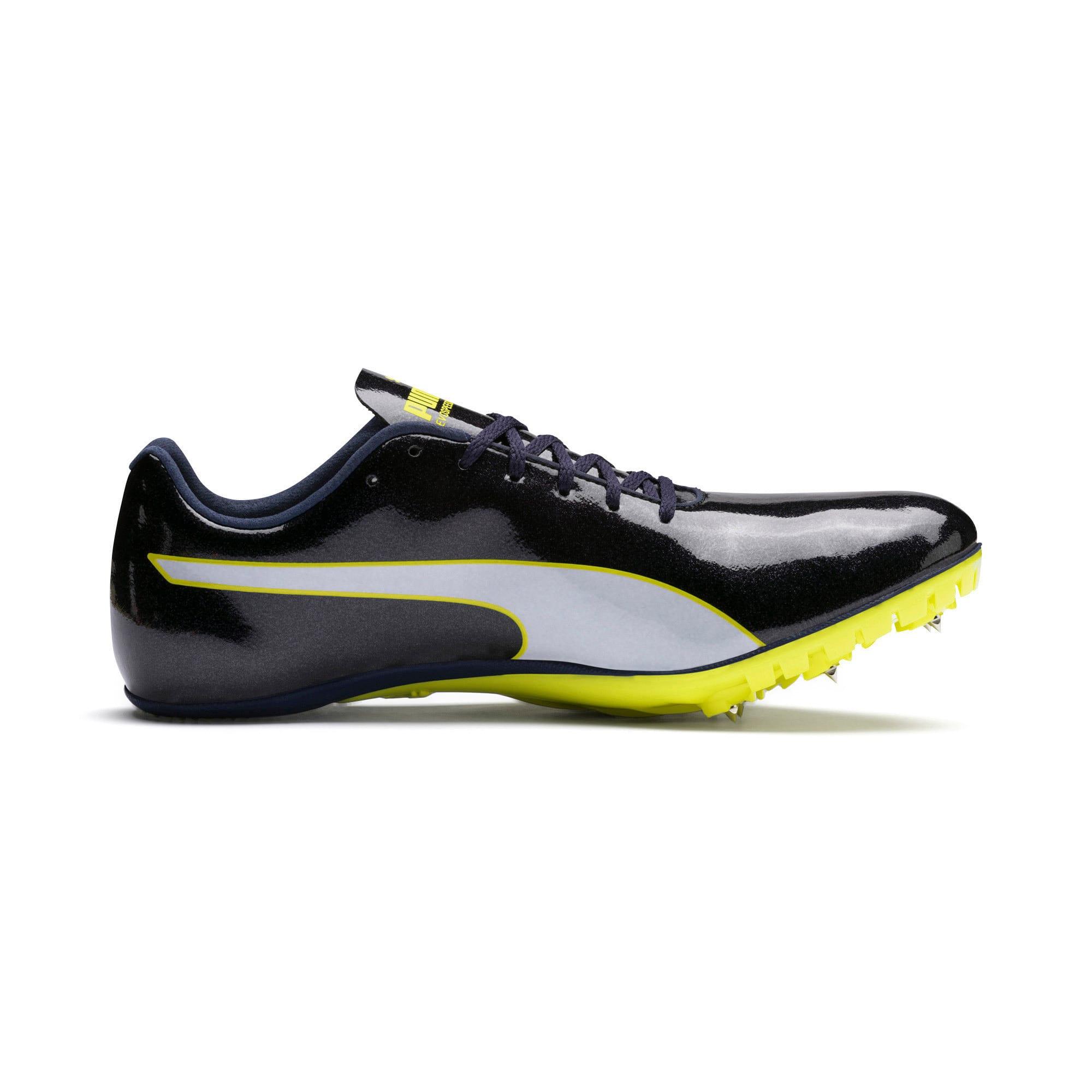 Thumbnail 5 of evoSPEED Sprint 9 Running Shoes, Black-Blazing Yellow-White, medium-IND