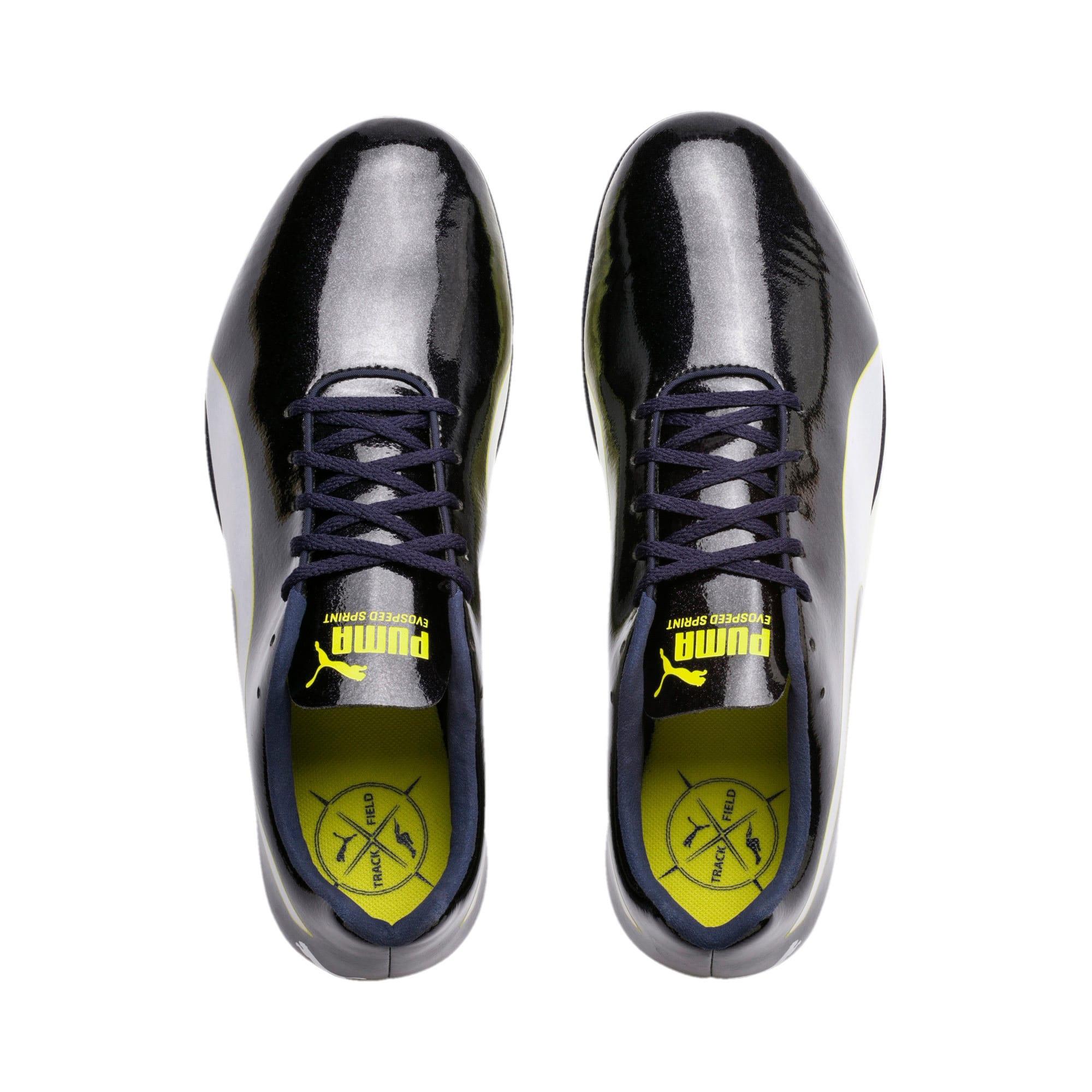 Thumbnail 6 of evoSPEED Sprint 9 Running Shoes, Black-Blazing Yellow-White, medium-IND