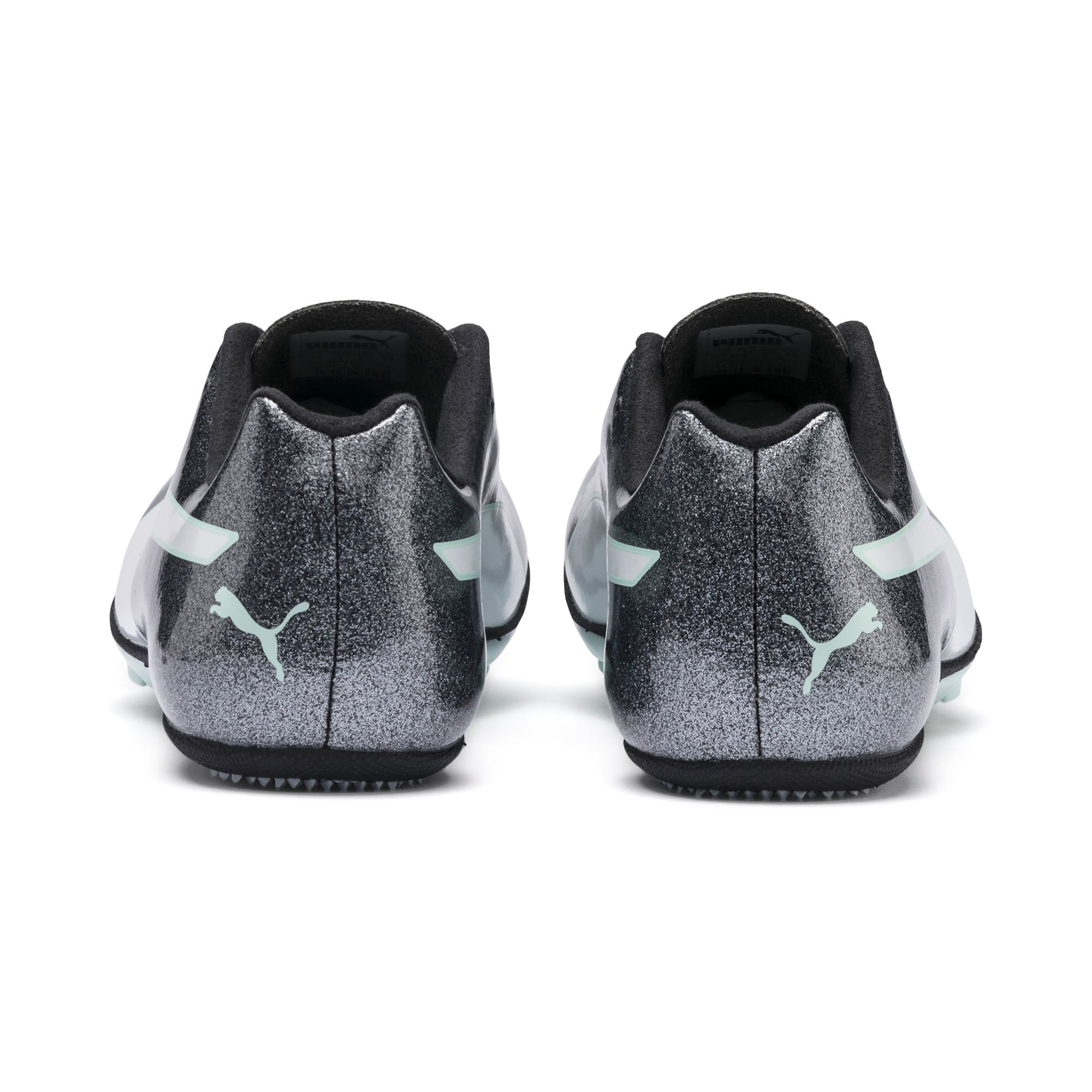 Thumbnail 3 of evoSPEED Sprint 9 Women's Running Shoes, Steel Gray-Fair Aqua-White, medium