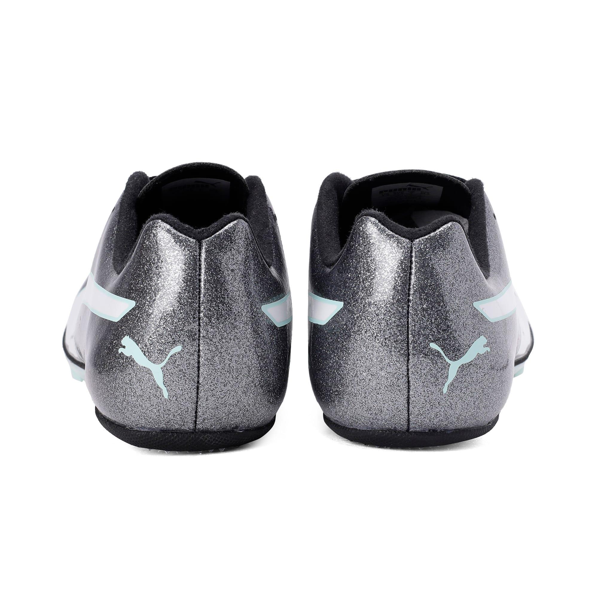 Thumbnail 3 of evoSPEED Sprint 9 Women's Running Shoes, Steel Gray-Fair Aqua-White, medium-IND