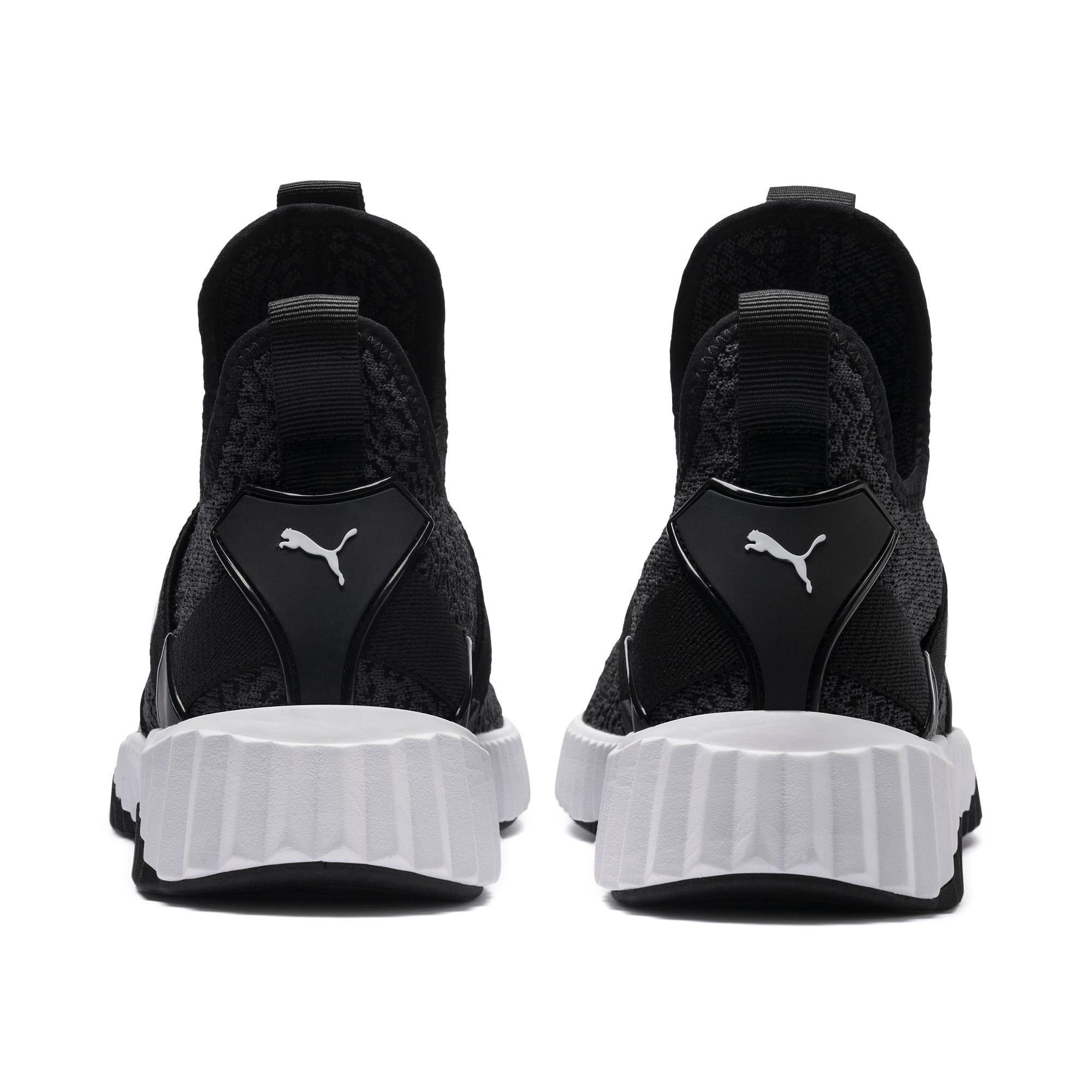 Thumbnail 4 of Defy Mid Animal Women's Training Shoes, Puma Black-Puma White, medium-IND