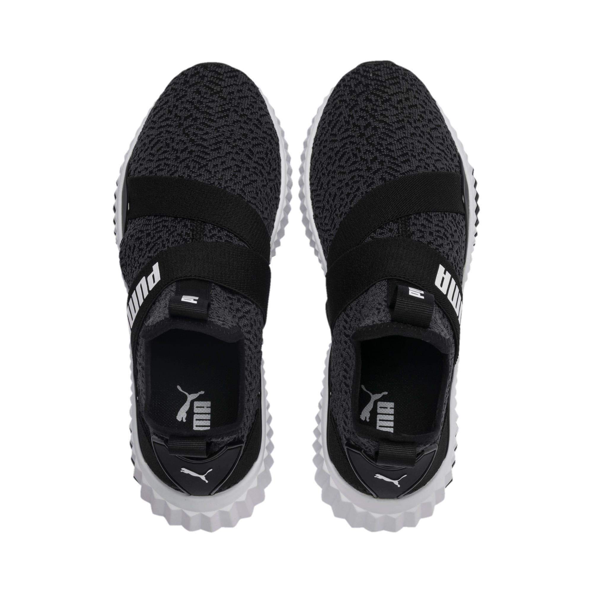 Thumbnail 5 of Defy Mid Animal Women's Training Shoes, Puma Black-Puma White, medium-IND