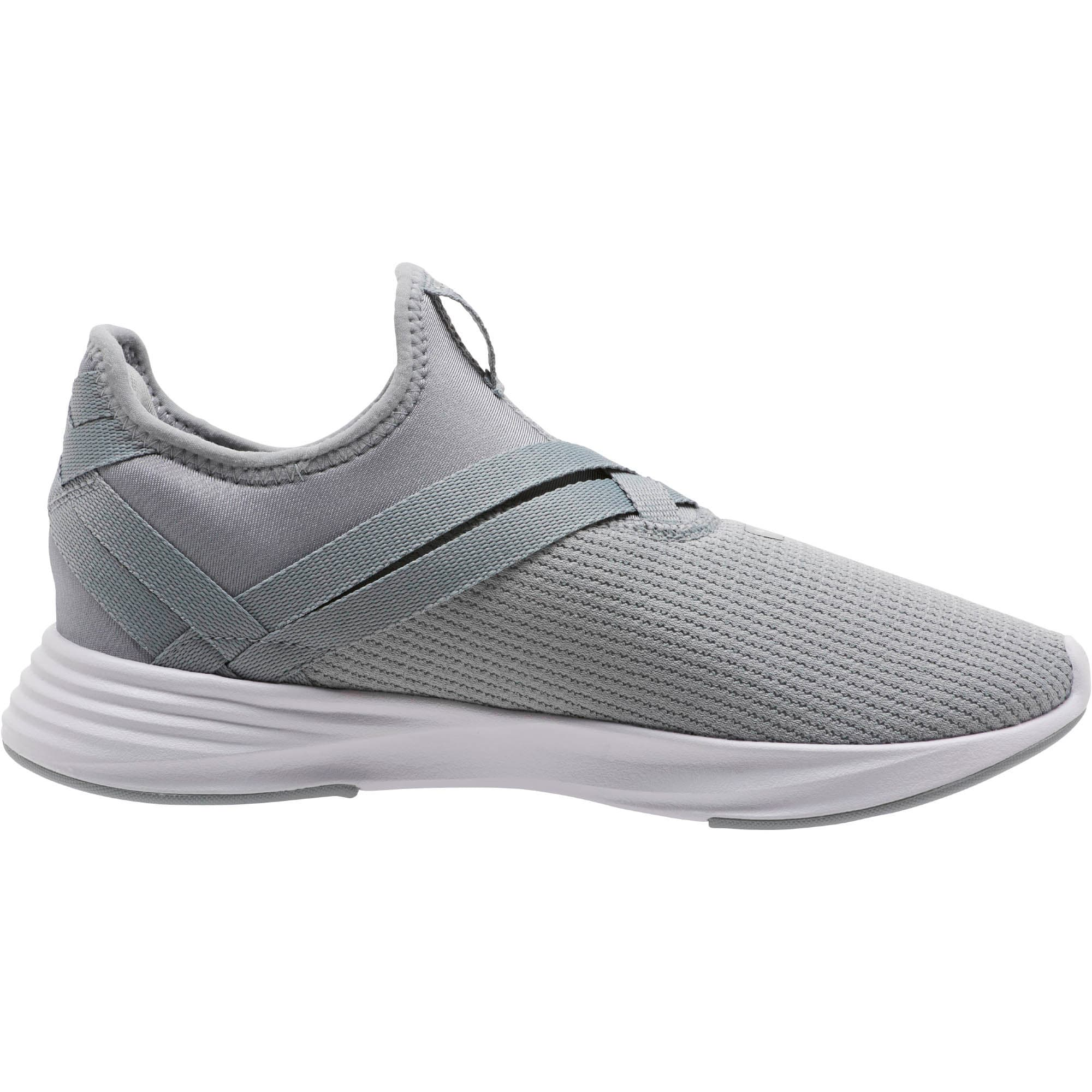 Thumbnail 3 of Radiate XT Slip-On Women's Sneakers, Quarry-Puma Silver, medium